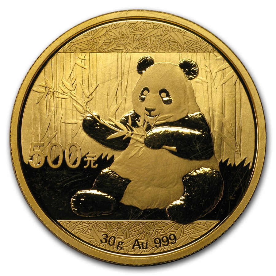 china 30 gram gold panda abrasions chinese gold pandas 1 oz 30 gram apmex. Black Bedroom Furniture Sets. Home Design Ideas
