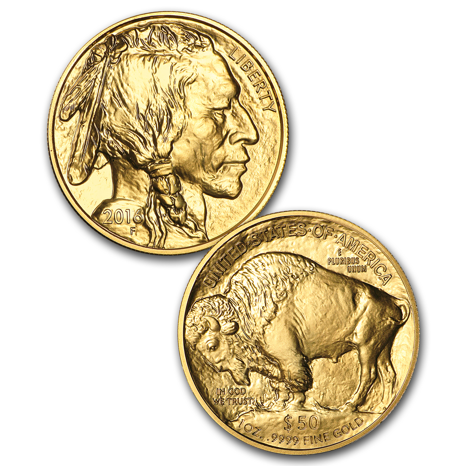 2006-2016 11-Coin 1 oz Gold Buffalo Set BU