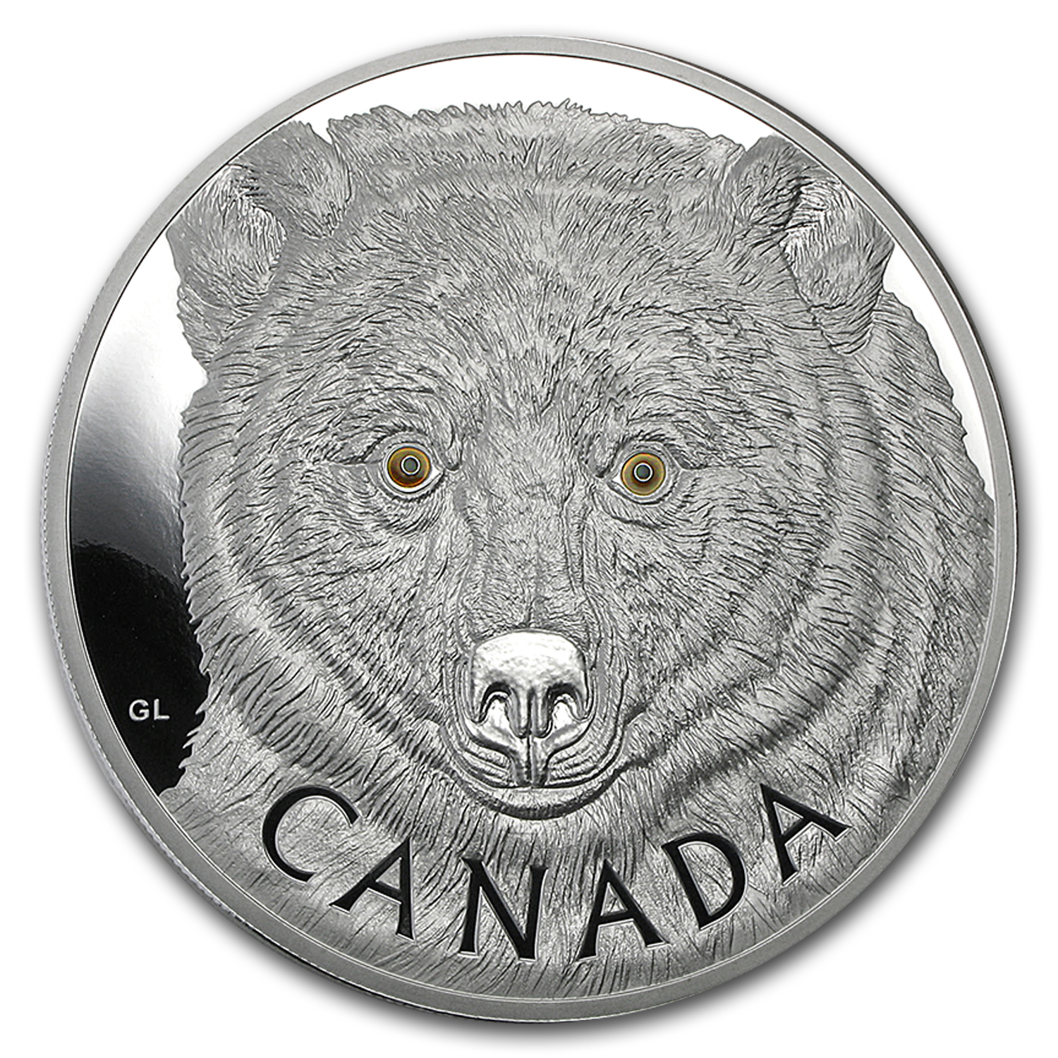 2016 Canada 1 kilo Proof Silver $250 Spirit Bear
