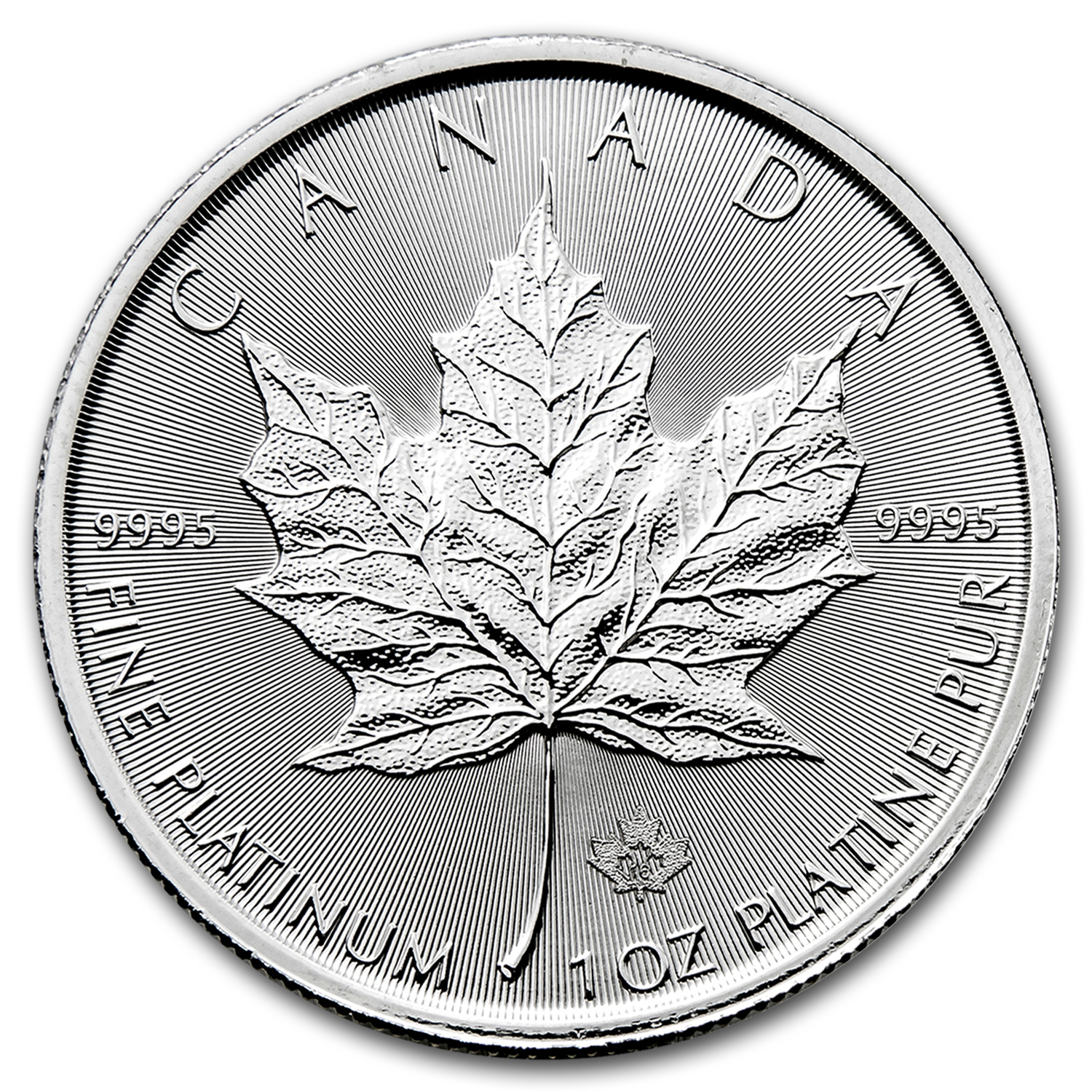 2016 Canada 1 oz Platinum Maple Leaf BU