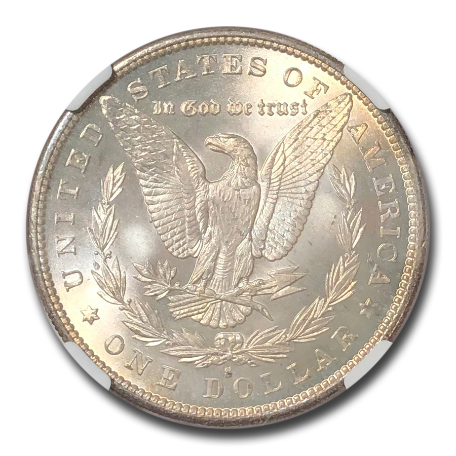 1879-S Morgan Dollar MS-65+ NGC