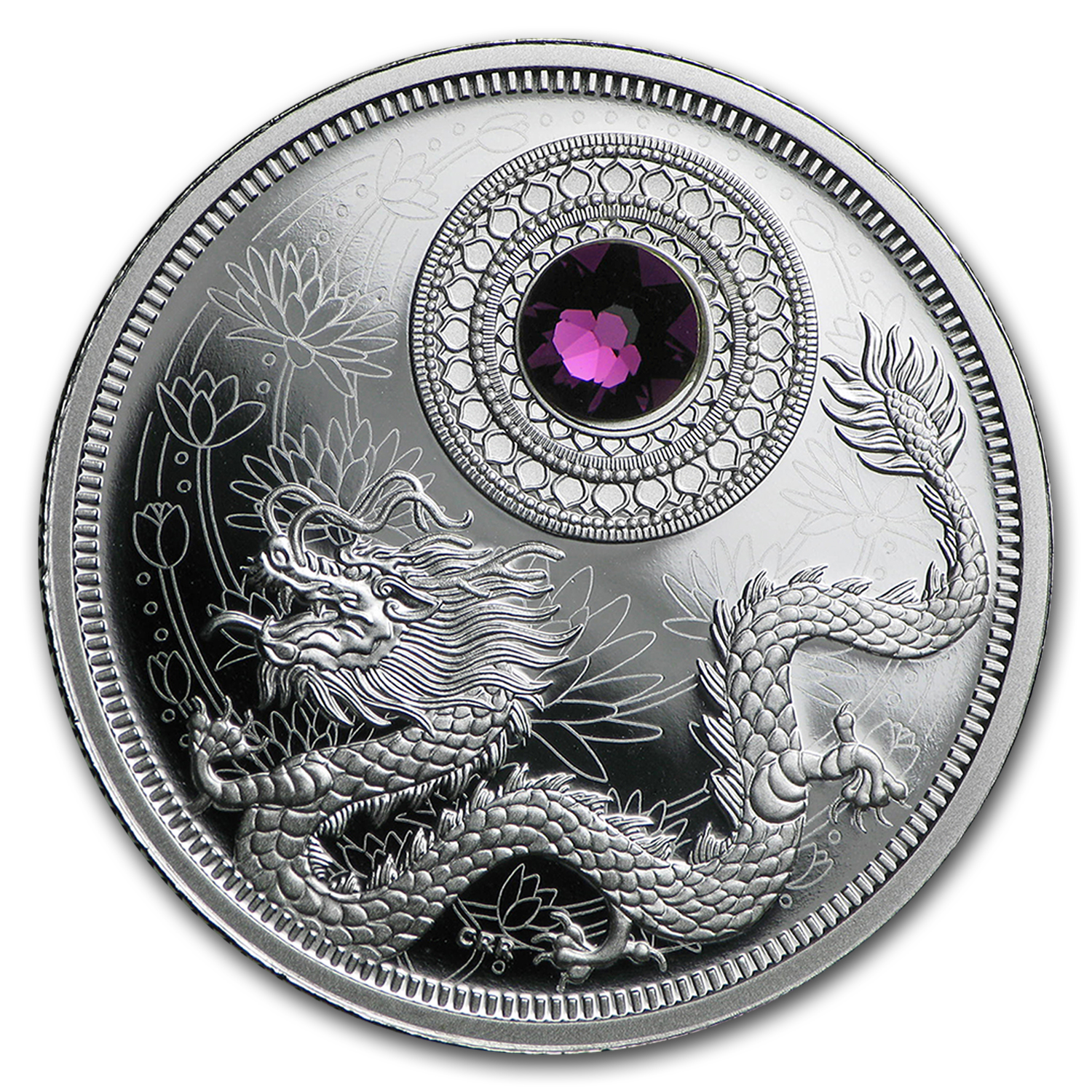 2016 Canada 1/4 oz Silver $5 Birthstones (February)