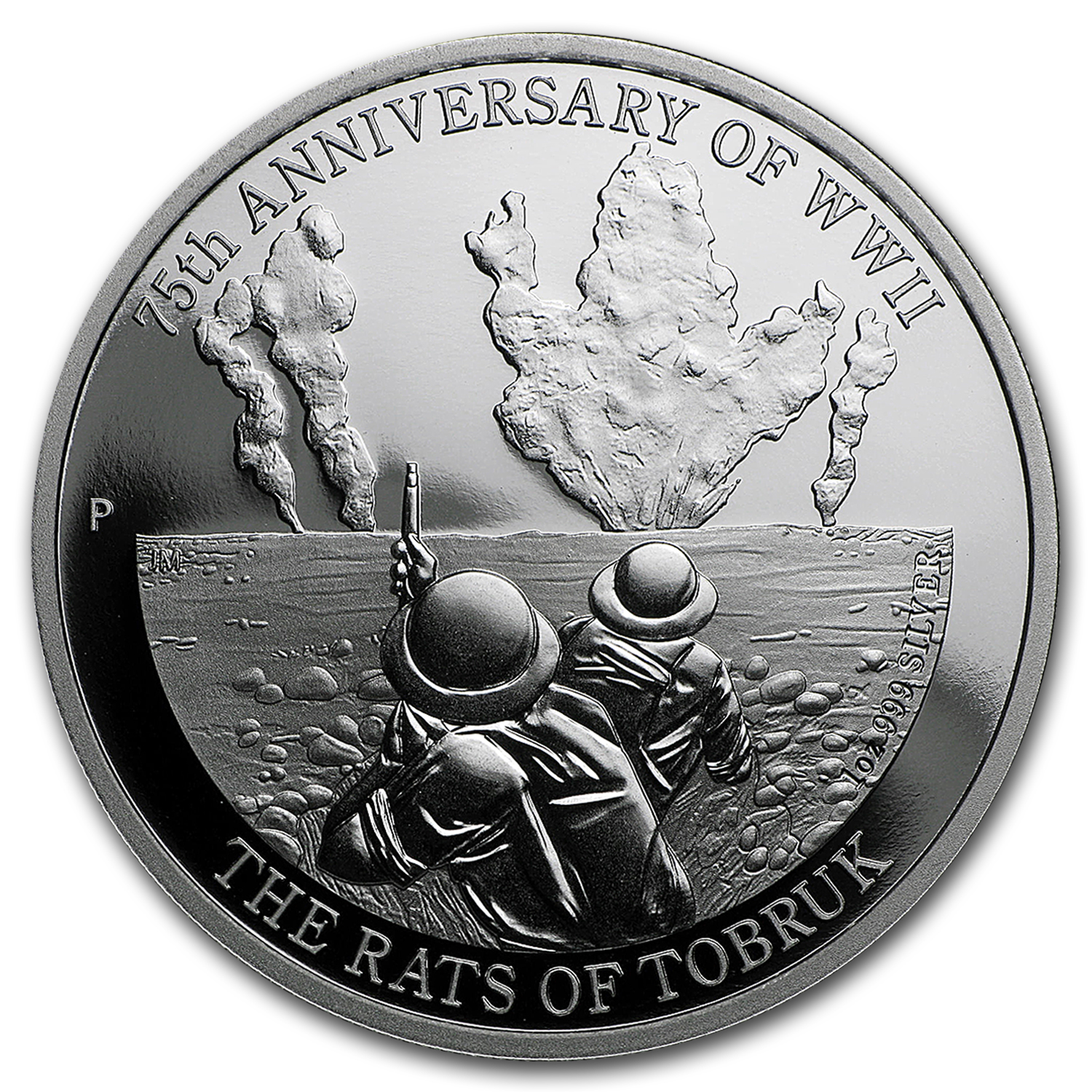 2016 AUS 1 oz Silver 75th Anniv of WWII Rats of Tobruk Proof