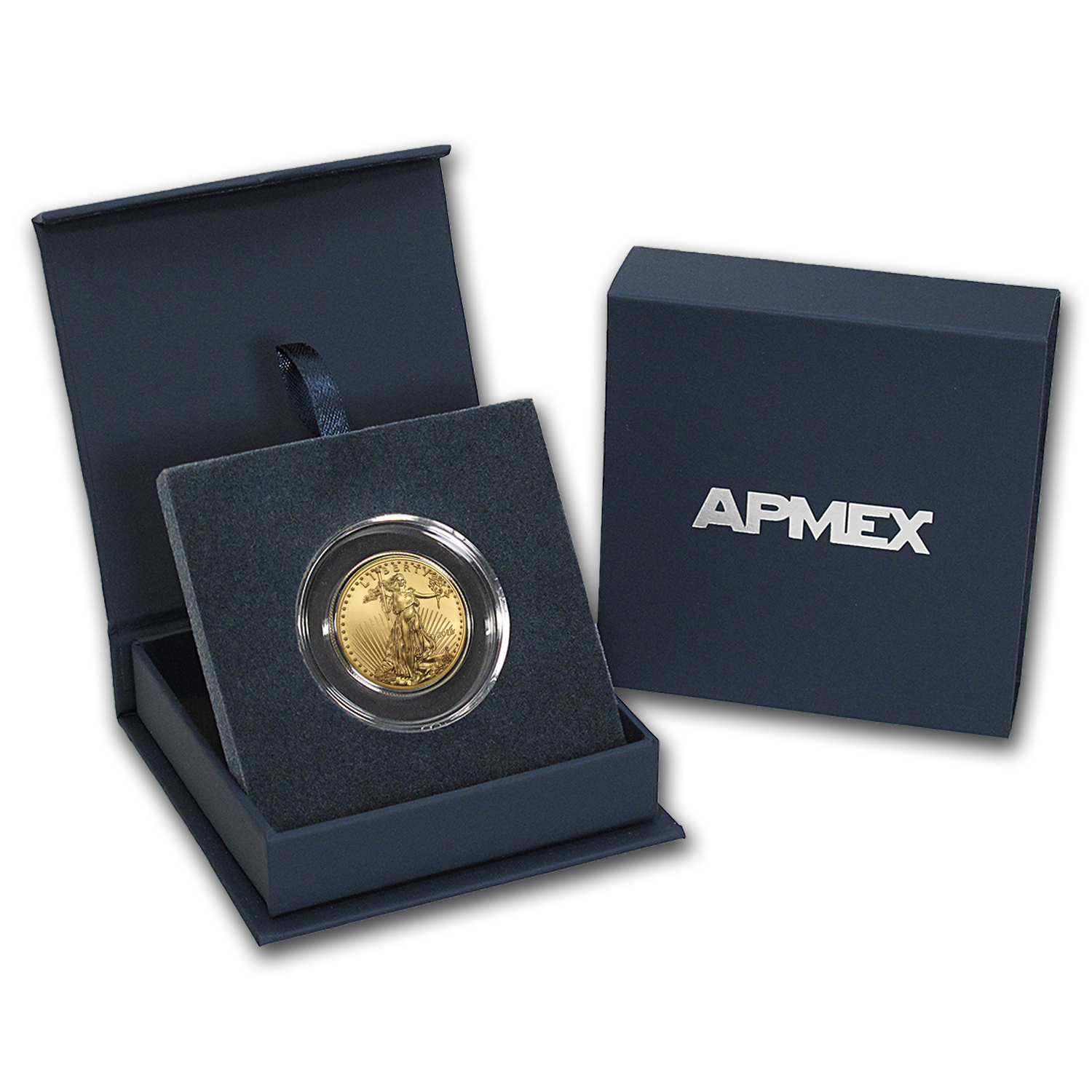 2016 1/2 oz Gold American Eagle BU (w/APMEX Gift Box)