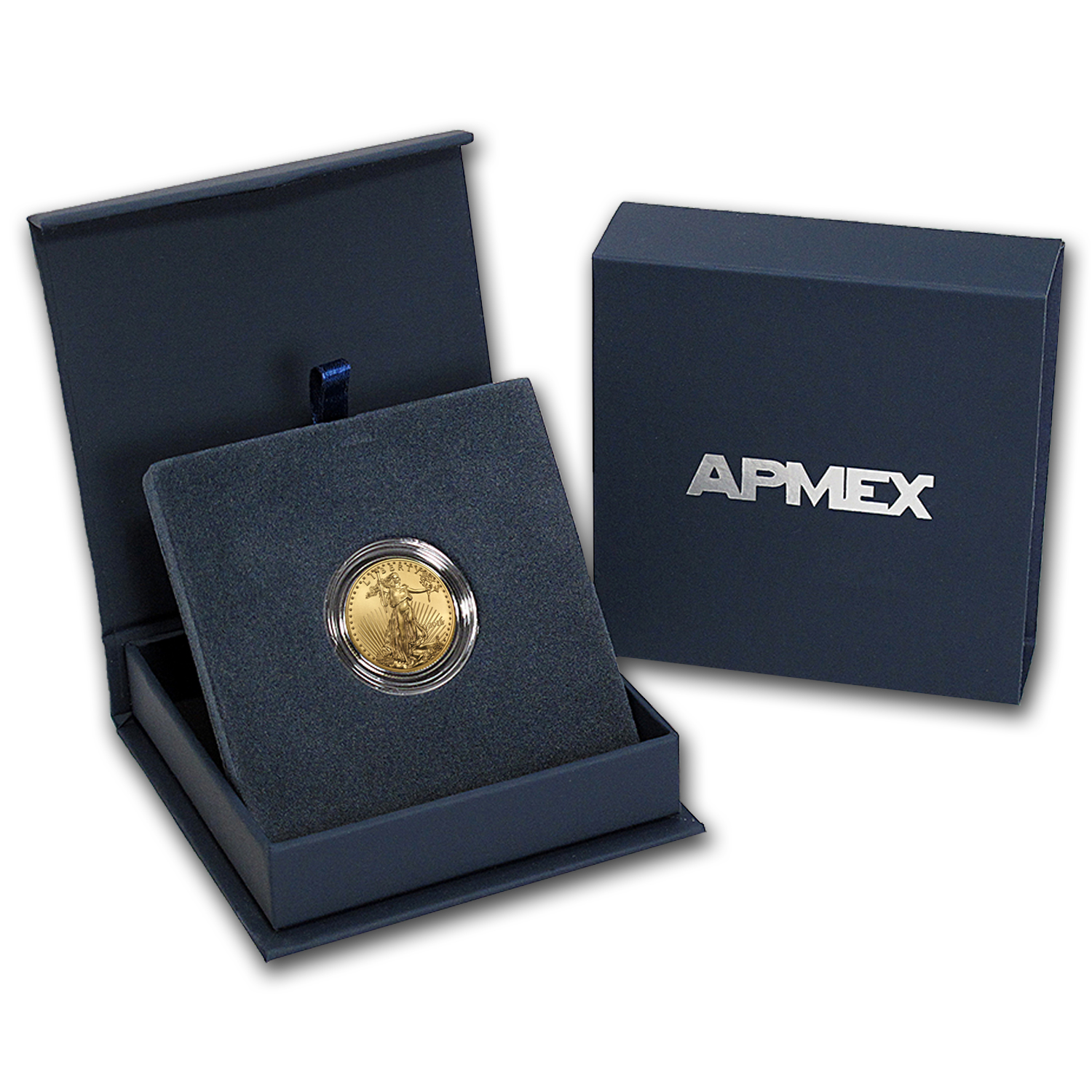 2016 1/4 oz Gold American Eagle BU (w/APMEX Gift Box)