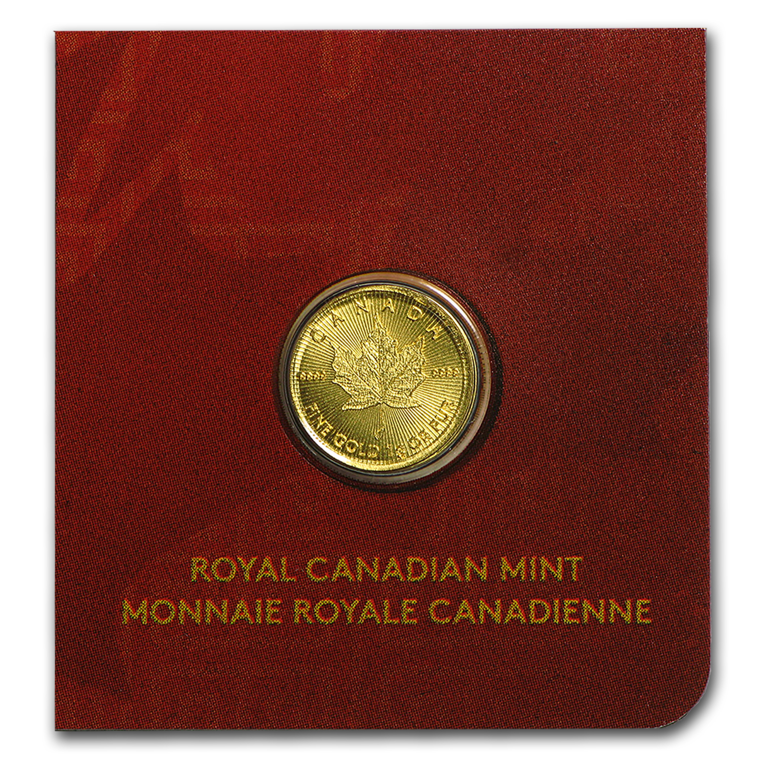 1 gram Gold Maple Leaf - Maplegram 25™ (In Asian Themed Assay)