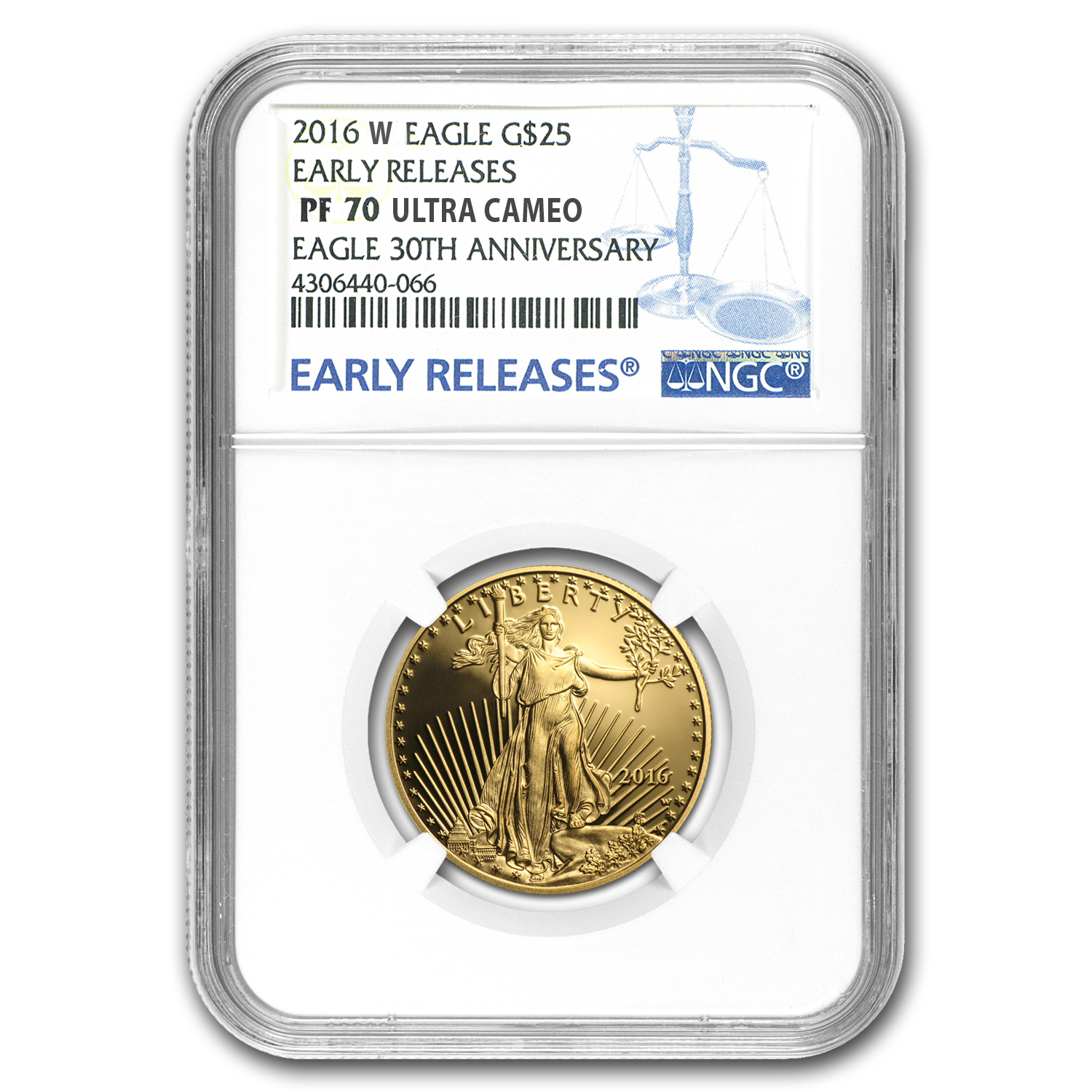 2016-W 4-Coin Proof Gold American Eagle Set PF-70 NGC (ER)