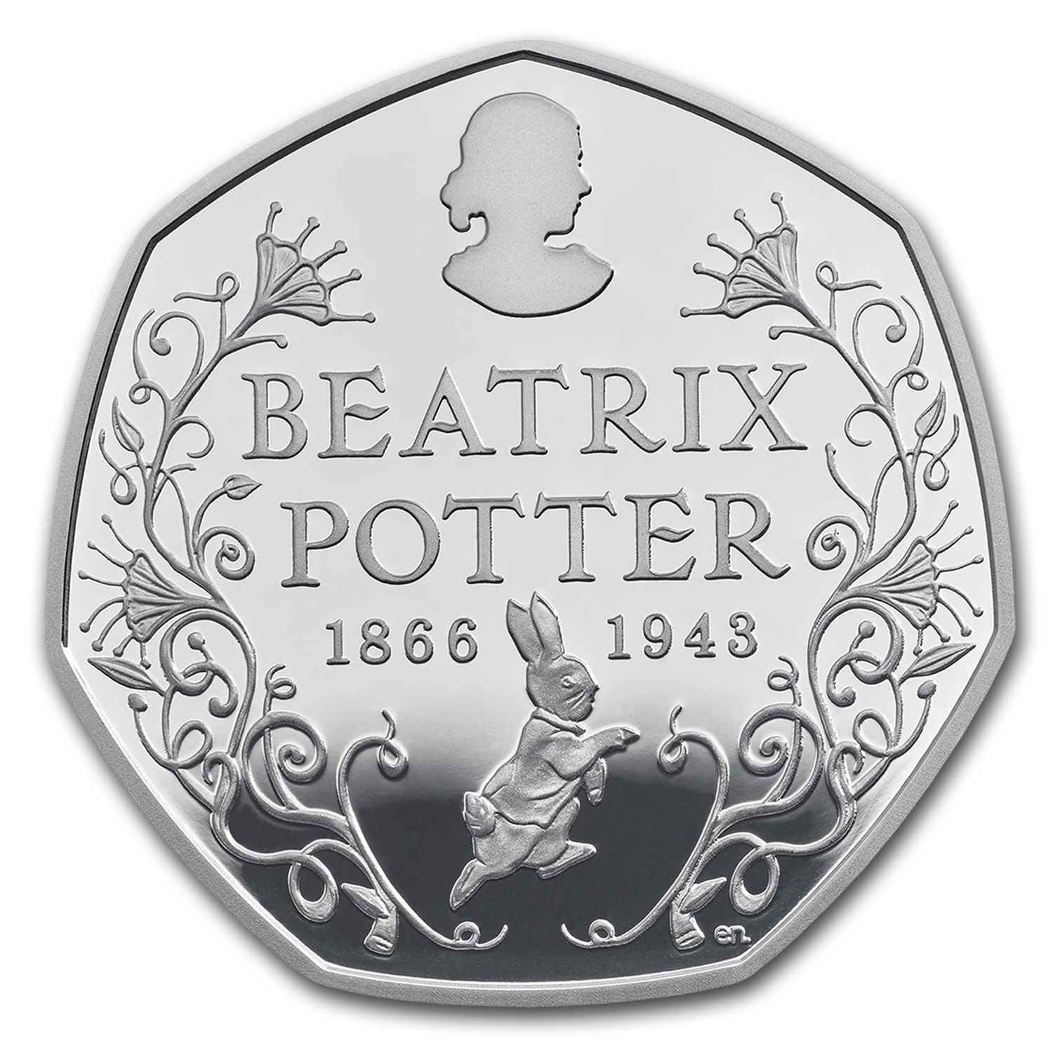 2016 Great Britain 8 Grams Silver Beatrix Potter Proof