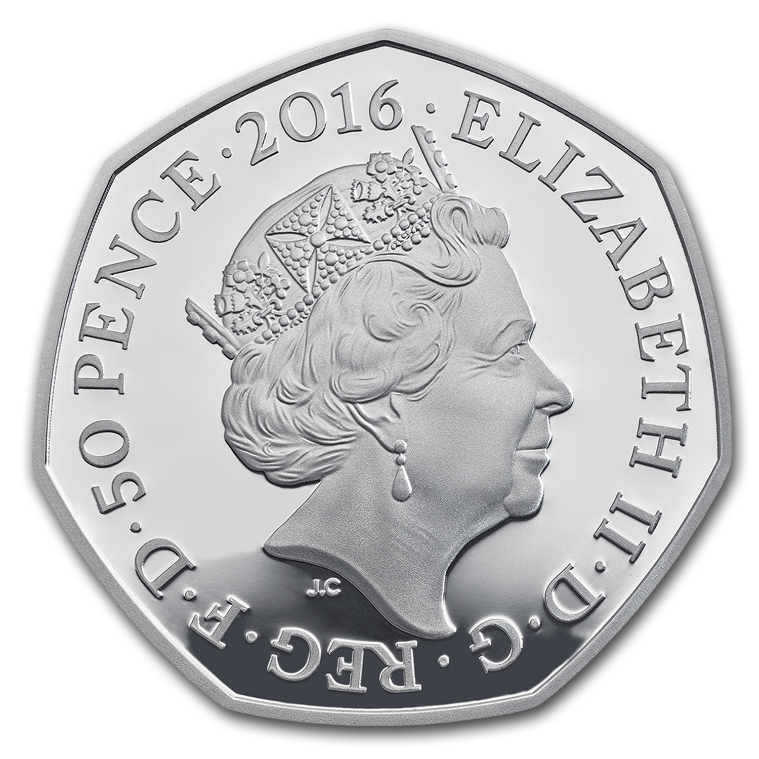 2016 Great Britain 16 grams Silver Beatrix Potter Piedfort Proof