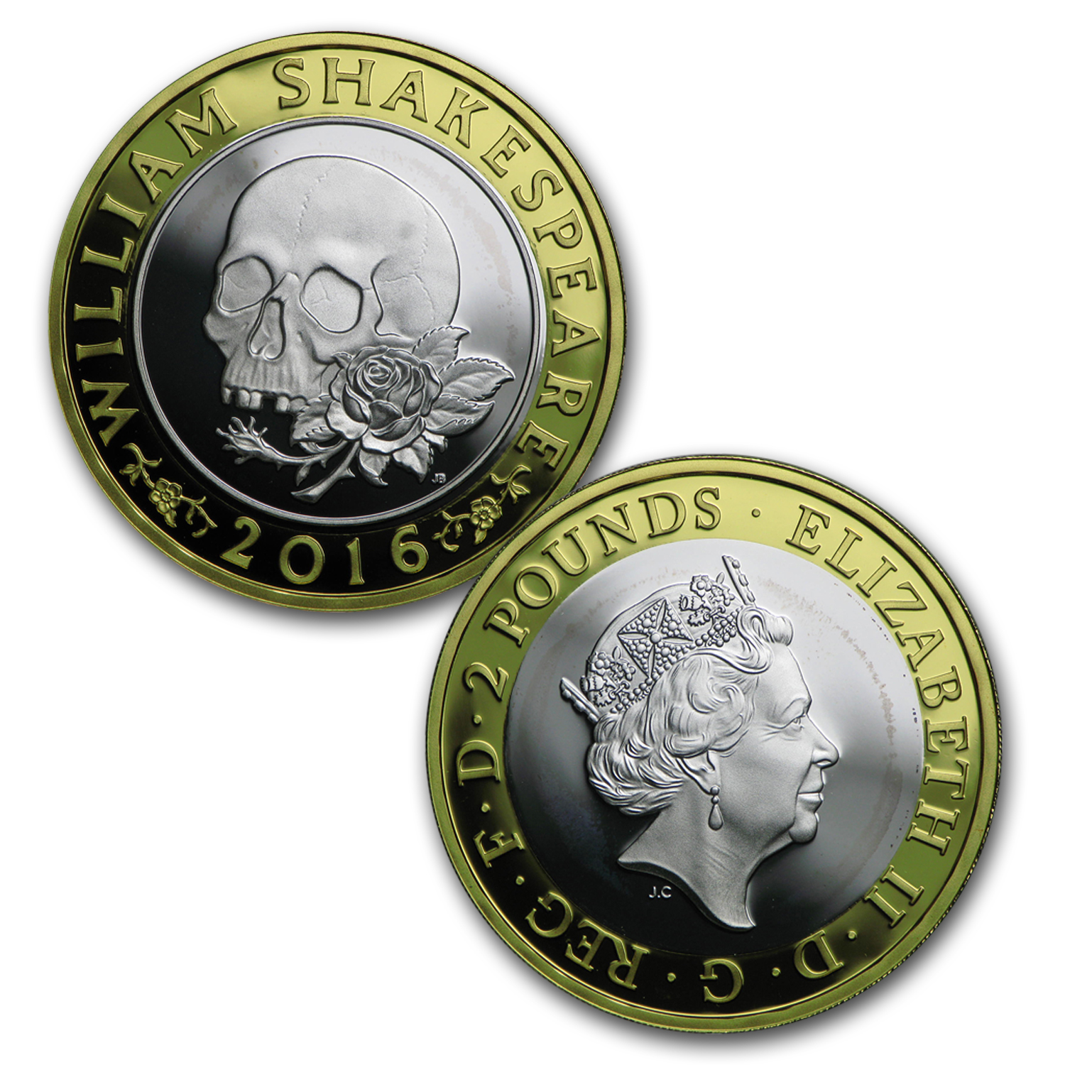 2016 Great Britain 16-Coin Silver Annual Set