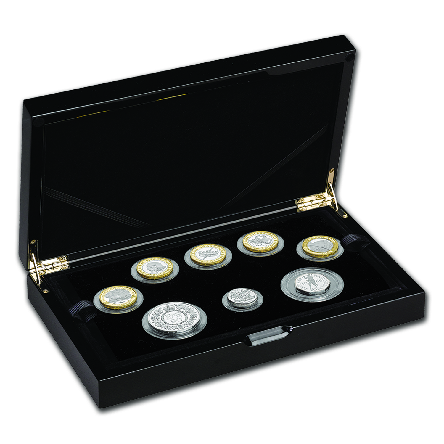 2016 Great Britain 8-Coin Silver Commemorative Proof Set