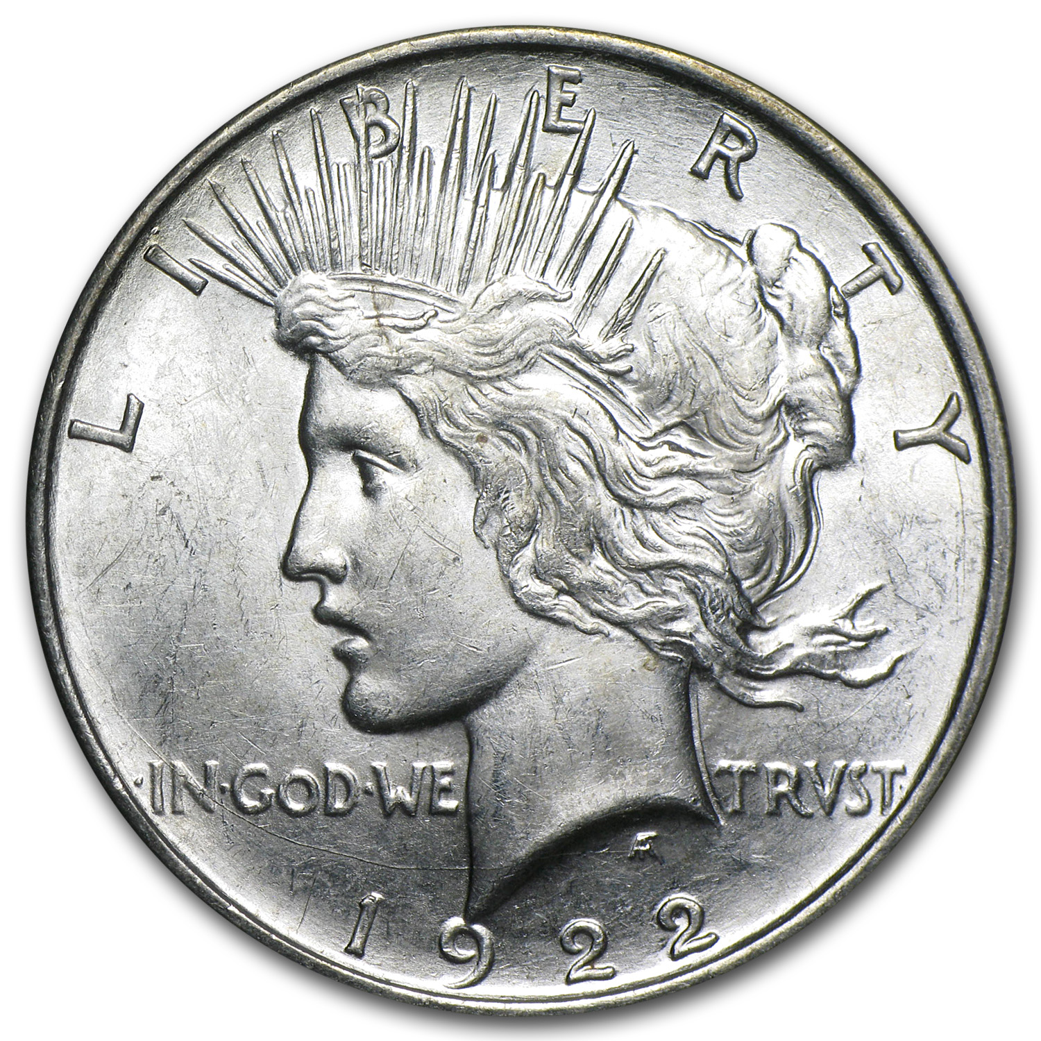 1922-D Peace Dollar - Brilliant Uncirculated