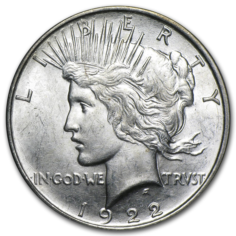 1922 D Peace Dollar Bu Peace Dollars 1921 1935 Date