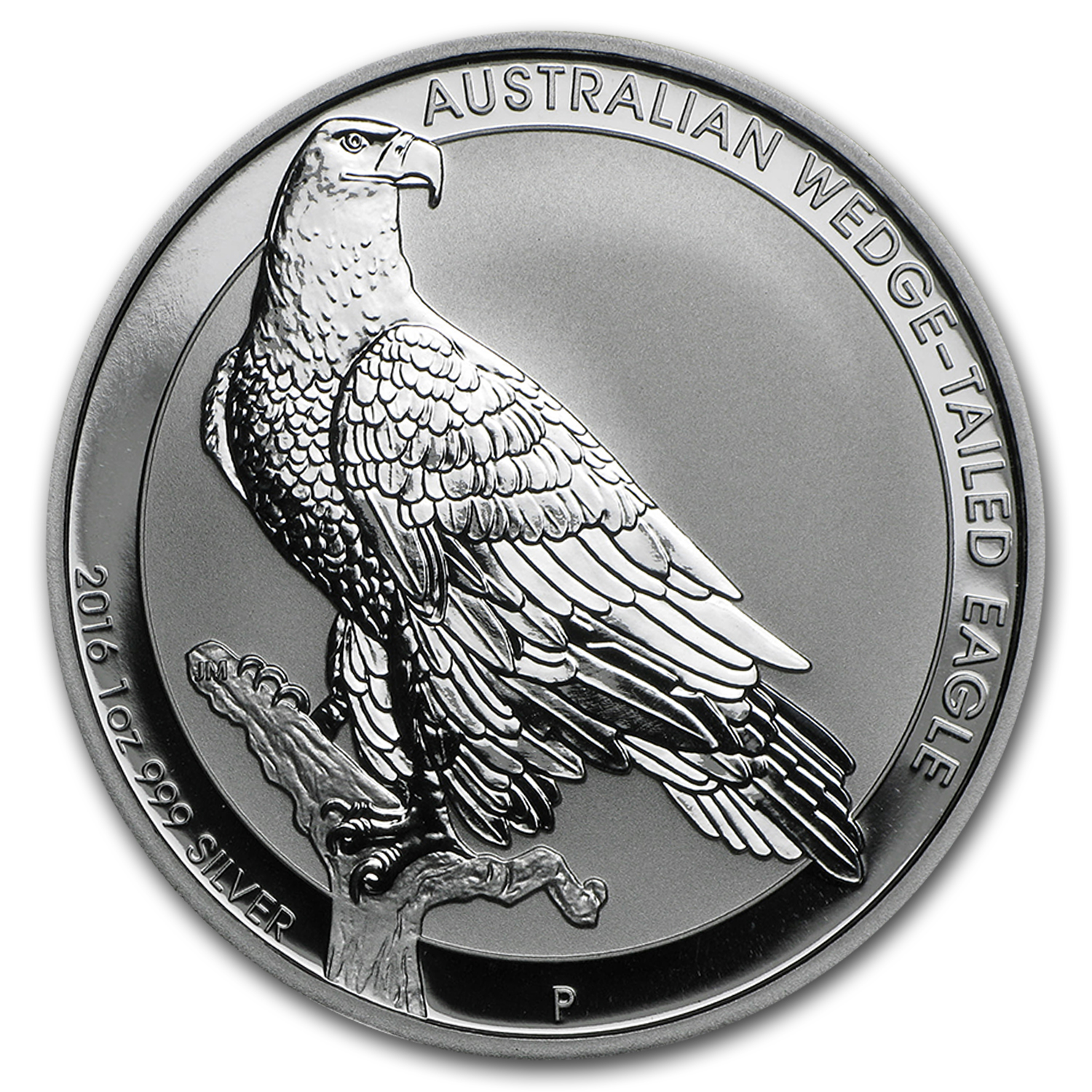 2016 Australia 1 oz Wedge-Tailed Eagle Silver BU