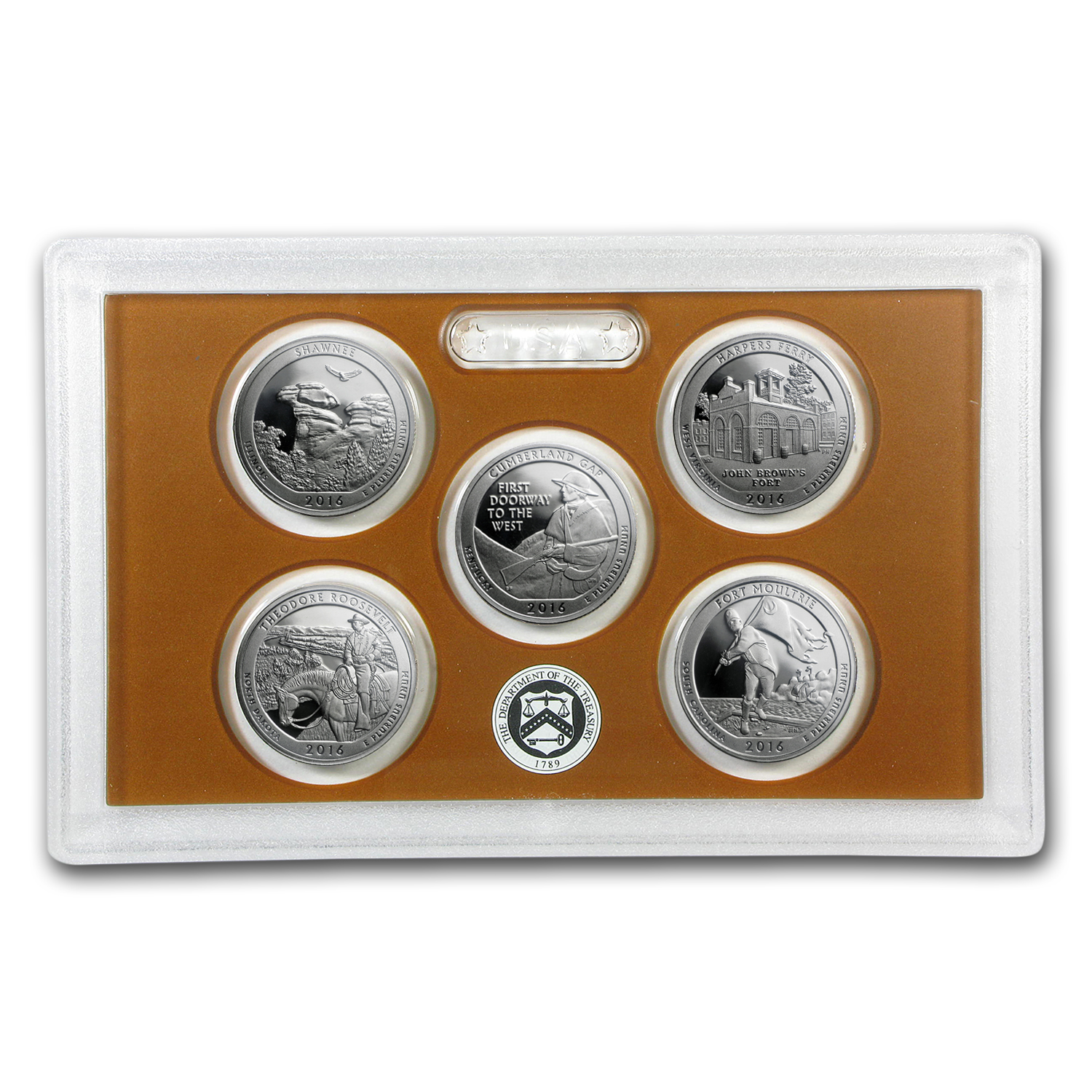 2016 America the Beautiful Quarters Proof Set