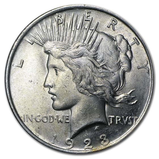 1923 Peace Dollar - Brilliant Uncirculated