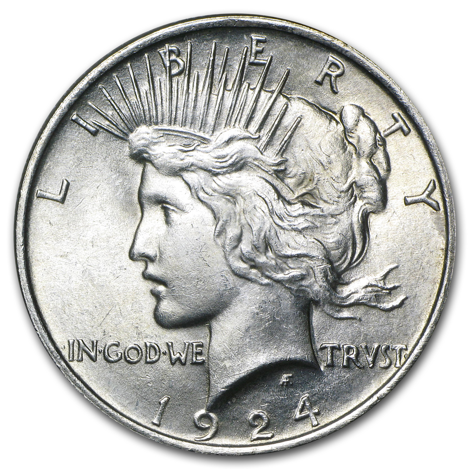 1924 Peace Dollar - Brilliant Uncirculated