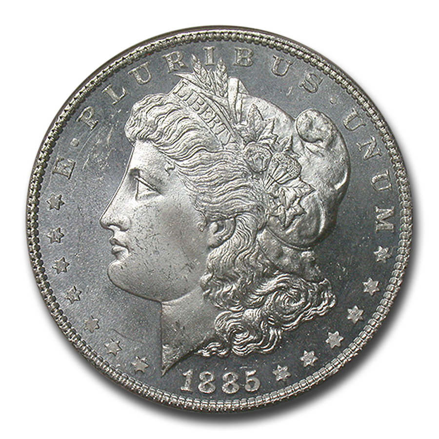 1885 Morgan Dollar MS-65 Deep Prooflike NGC