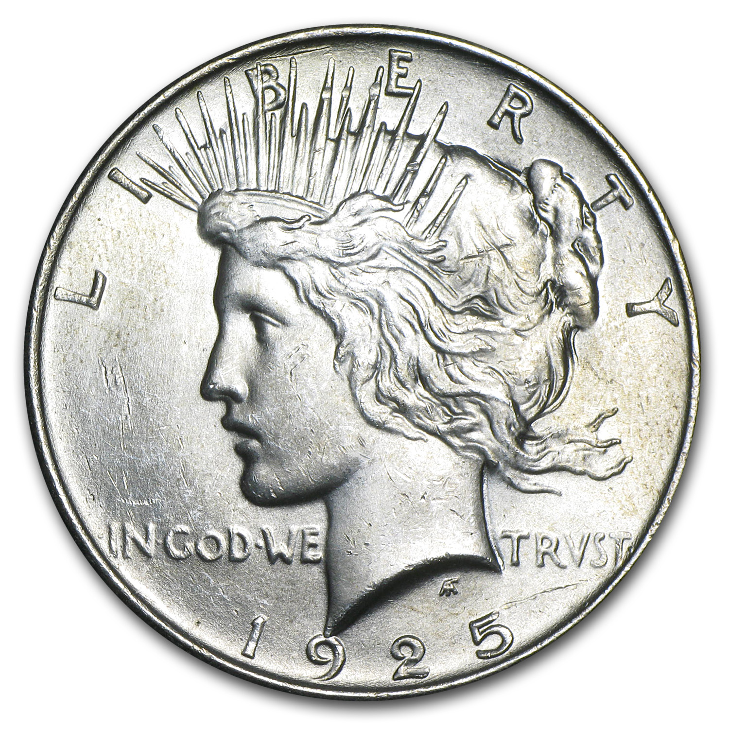 1925 Peace Dollar - Brilliant Uncirculated