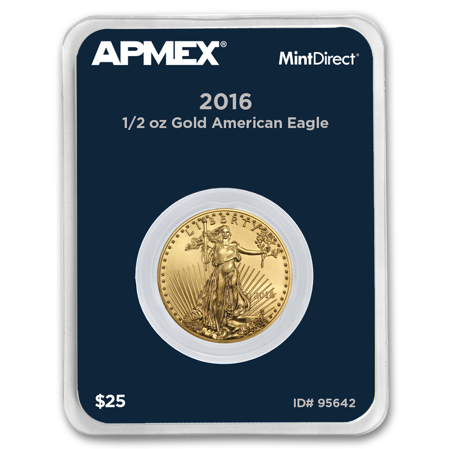 2016 1/2 oz Gold Eagle (MintDirect® Single)