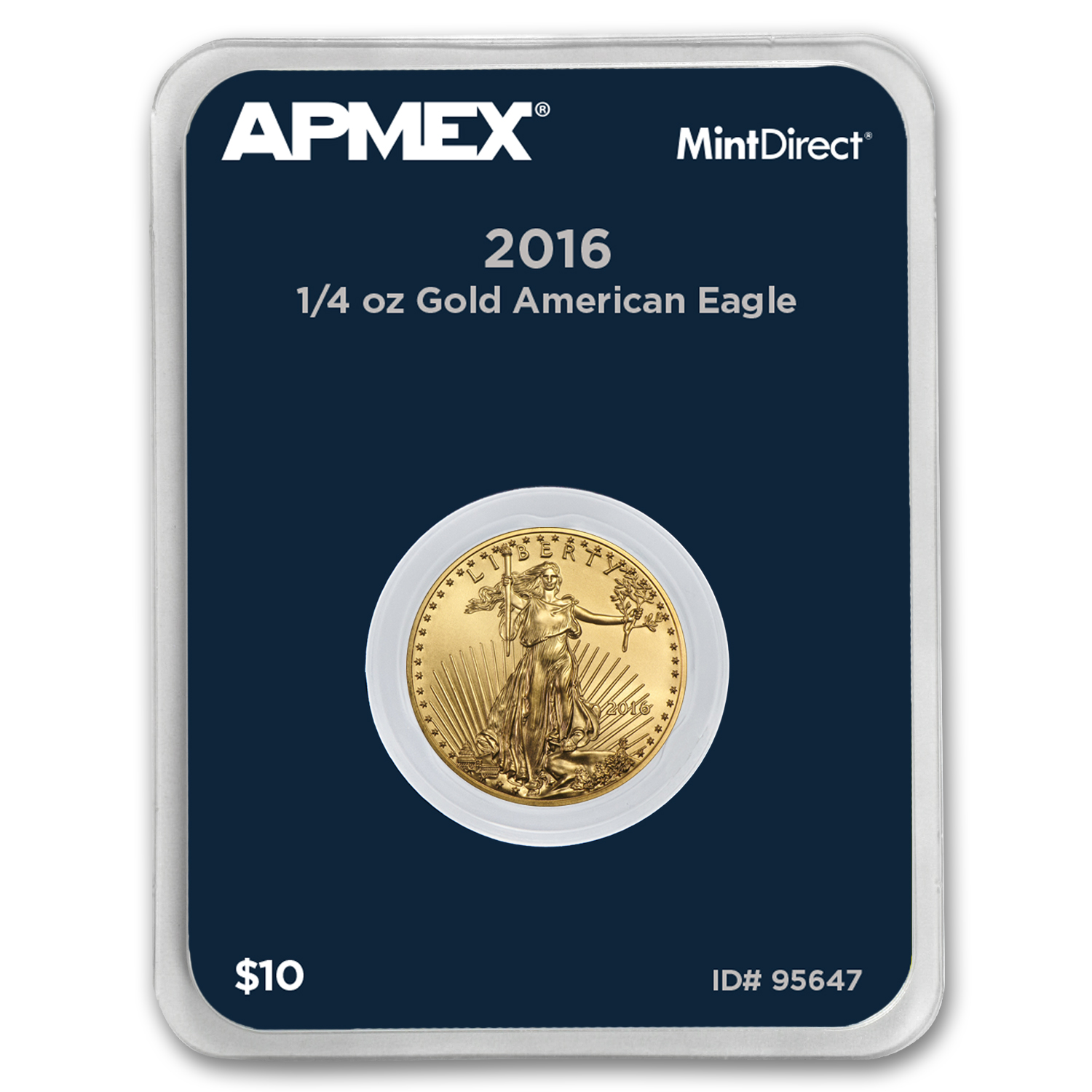 2016 1/4 oz Gold Eagle (MintDirect® Single)