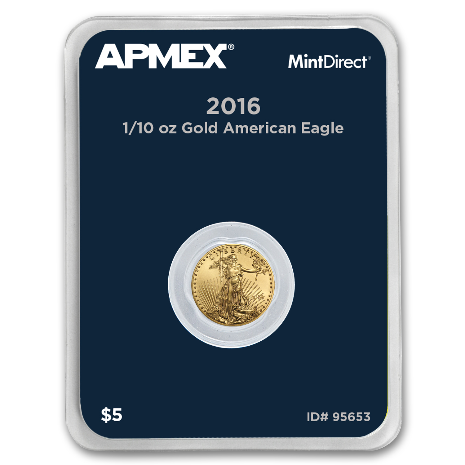 2016 1/10 oz Gold Eagle (MintDirect® Single)