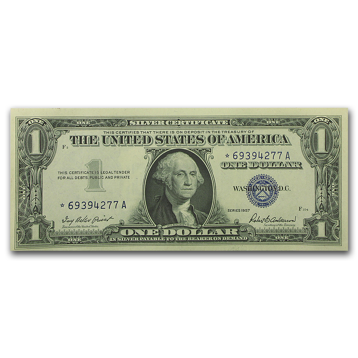 1957* $1.00 Silver Certificate CCU (47 Consecutive Notes)