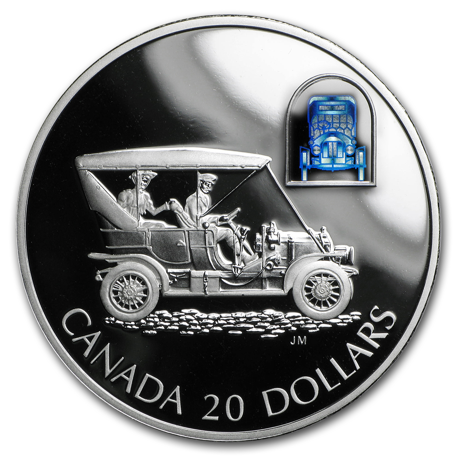 2001 Canada 1 oz Silver $20 Russell Model L Touring Car