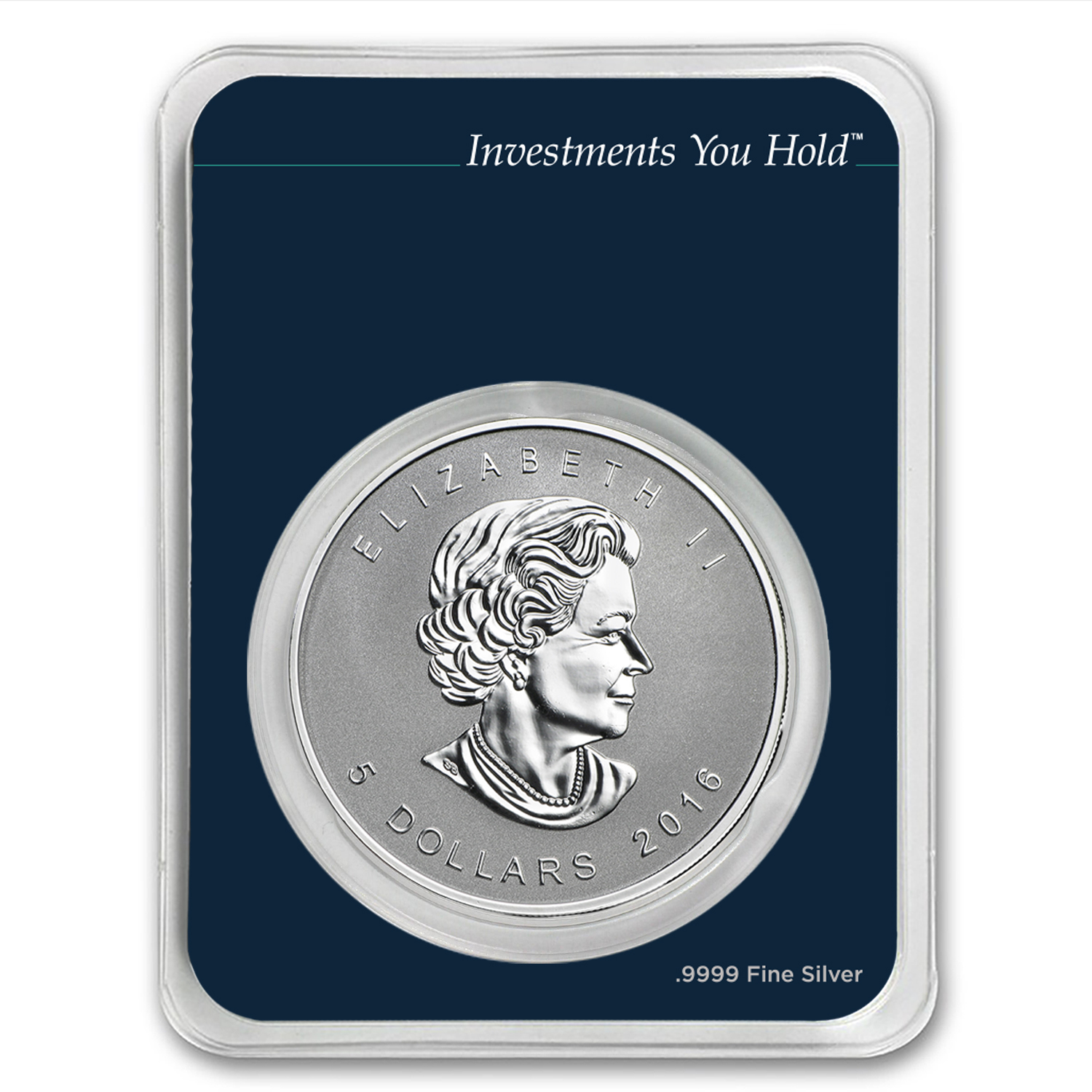 2016 CAN 1 oz Silver Maple Leaf Monkey Privy (MintDirect® Single)