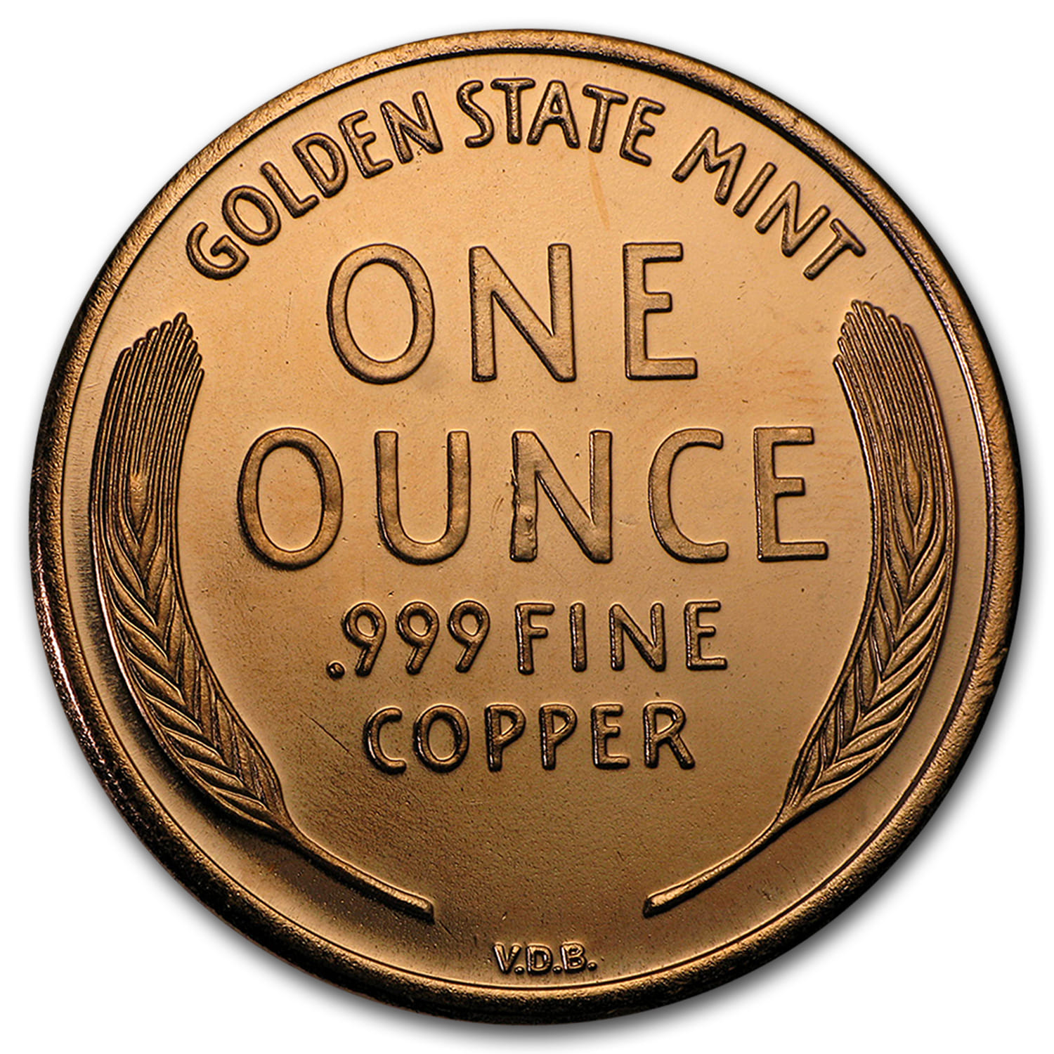 1 Oz Copper Round Non Vi Virtute Vici 1 Oz Copper