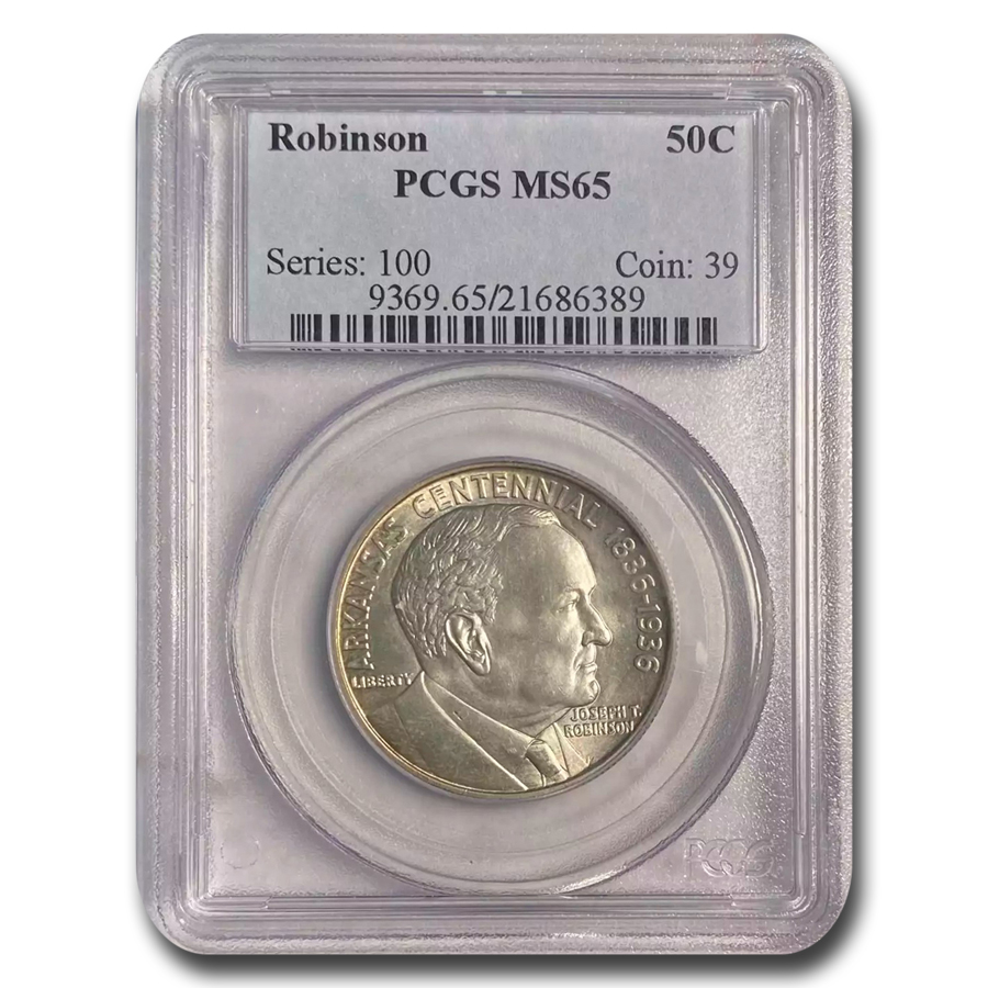 1936 Robinson-Arkansas Half Dollar MS-65 PCGS