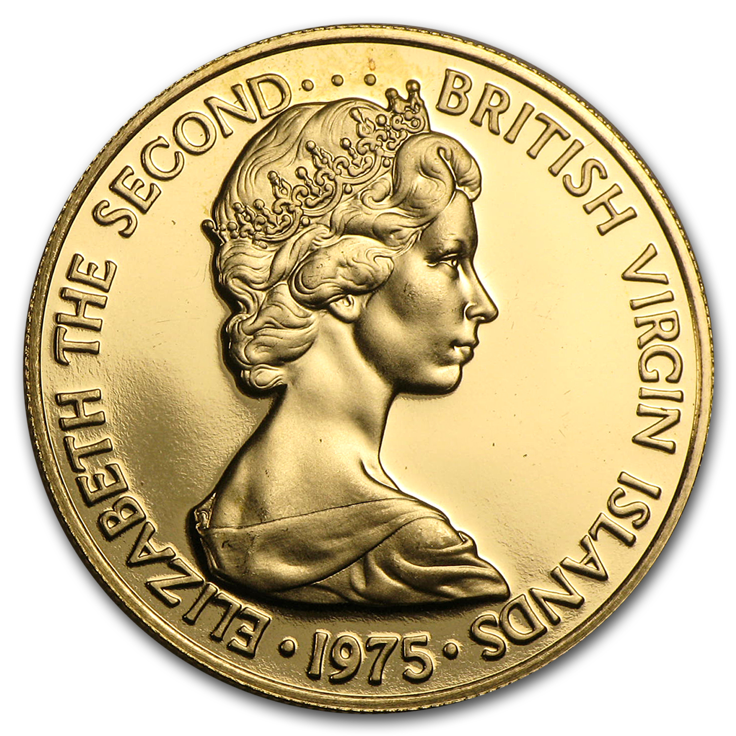 1975 British Virgin Islands Proof Gold 100 Dollars