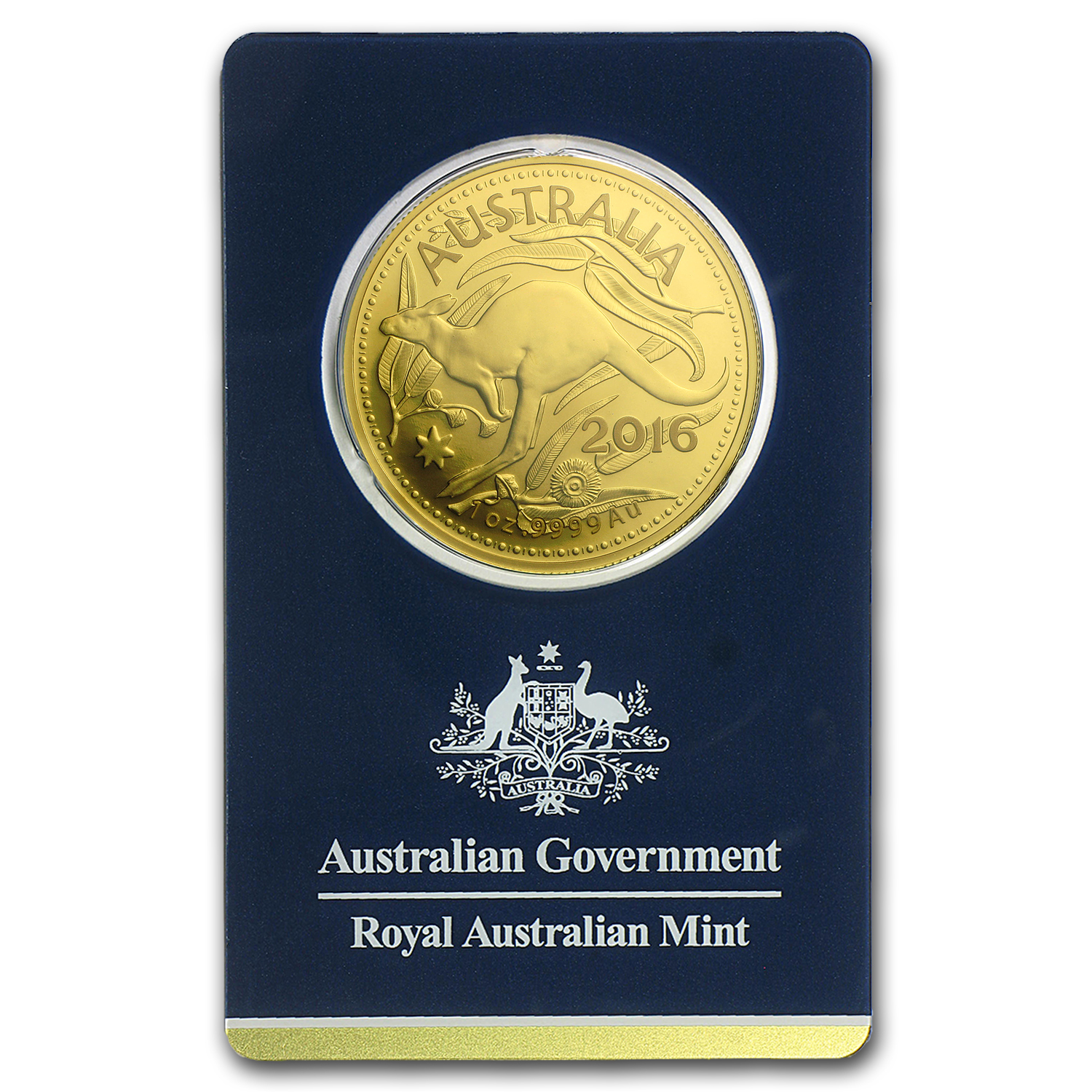 2016 Australia 1 oz Gold RAM Kangaroo (In Assay)