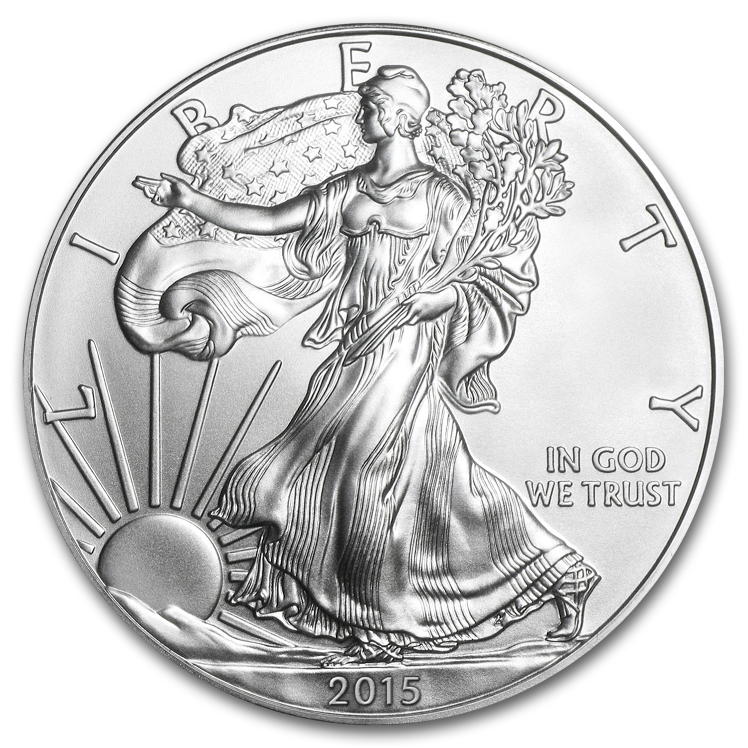 2015-W Proof Silver American Eagle PF-70 NGC (Early Release)
