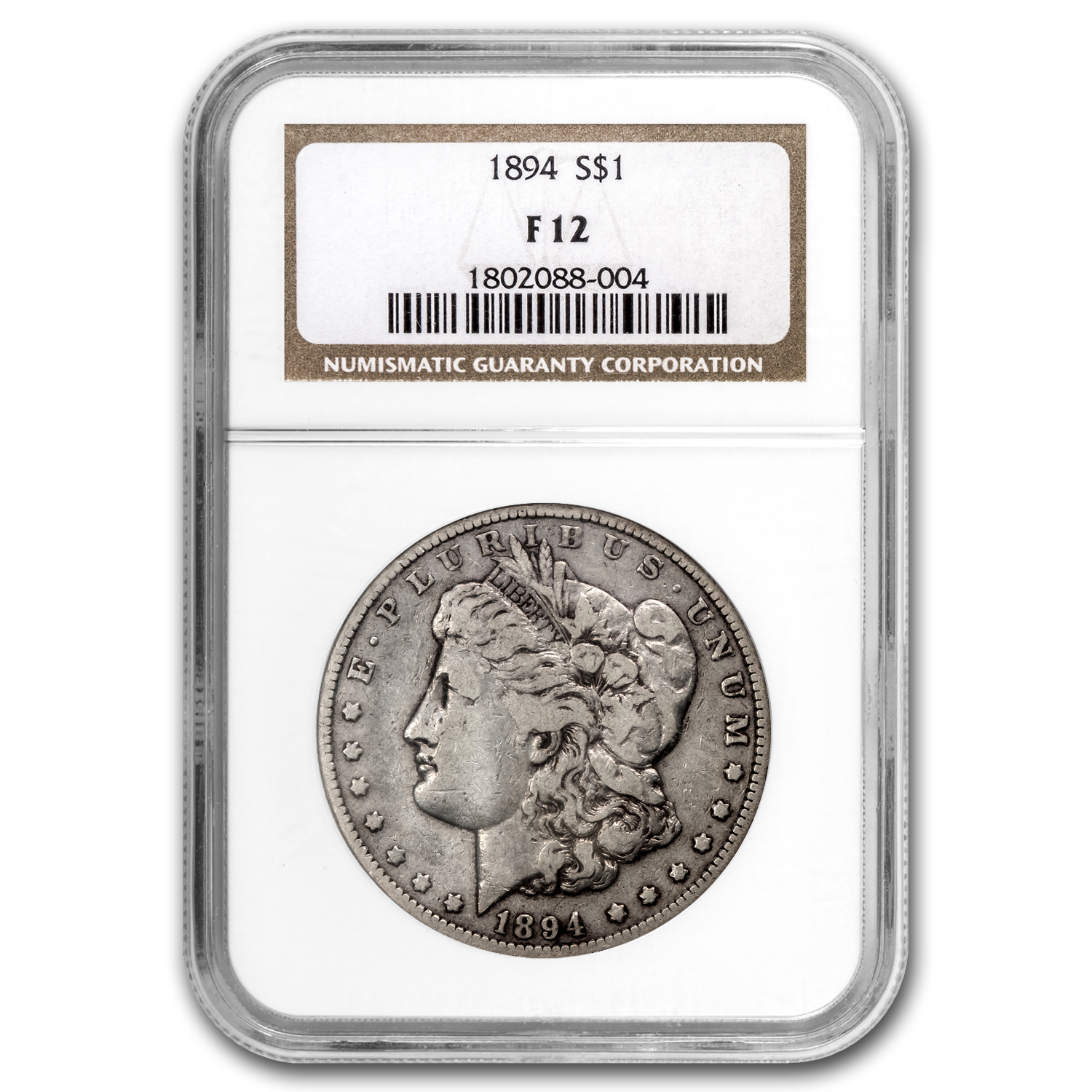 1894 Morgan Dollar Fine-12 NGC