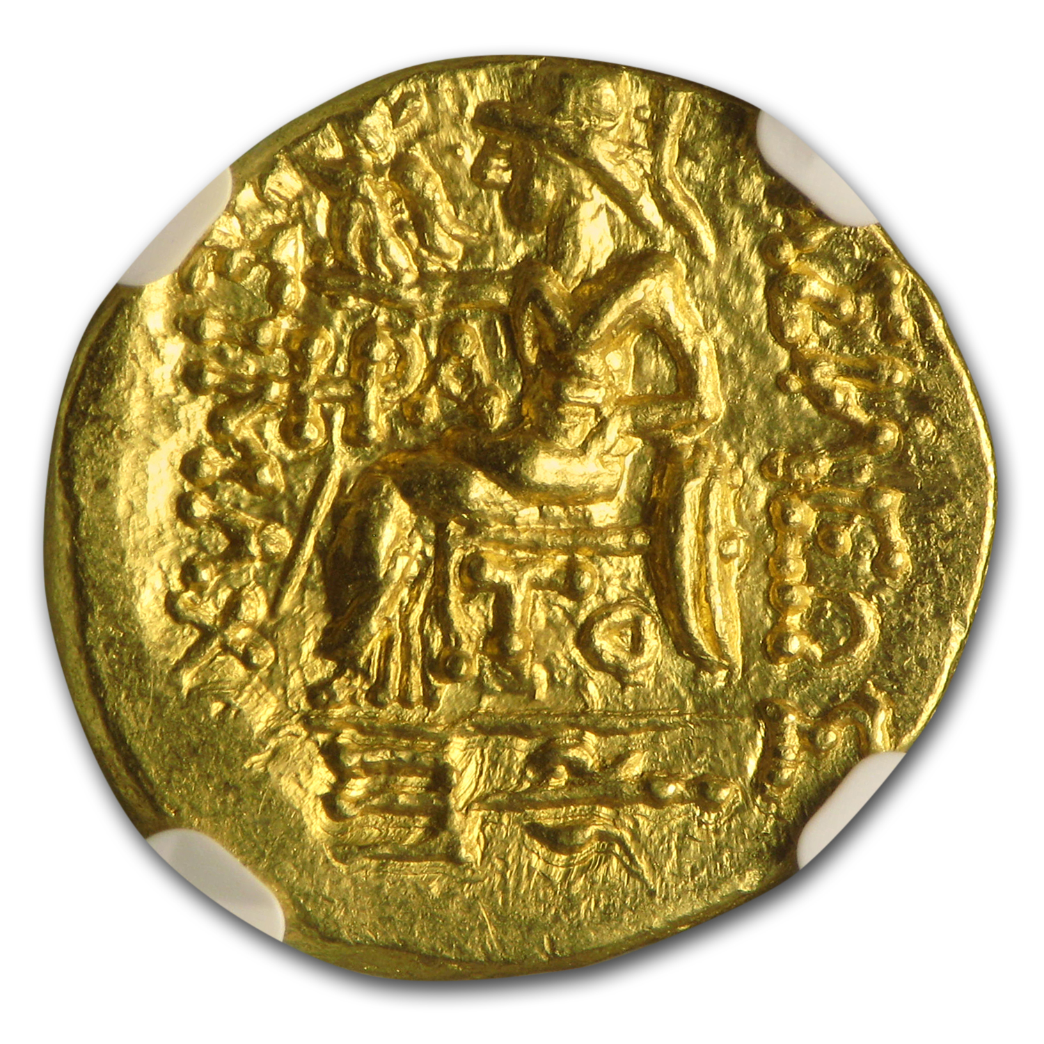 Kingdom of Pontus AV Gold Stater Mithradates VI MS NGC