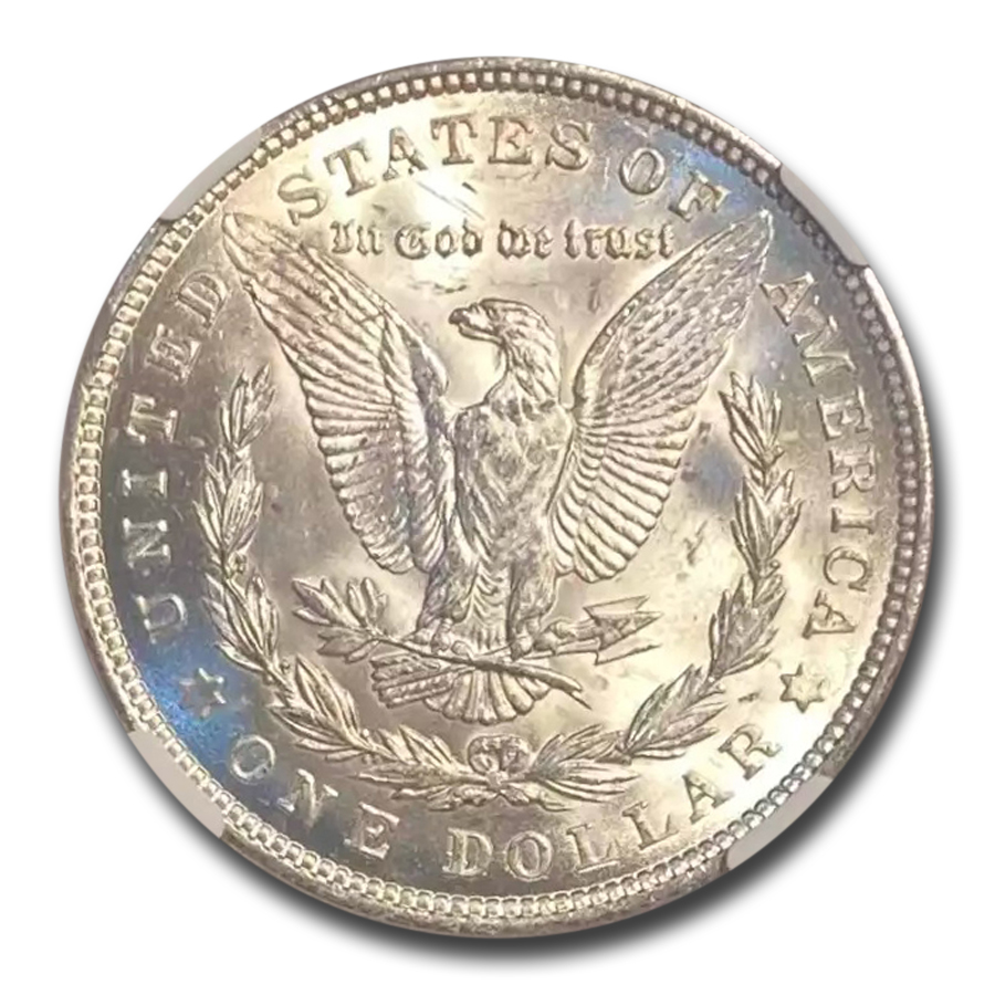 1921 Morgan Dollar MS-66 NGC