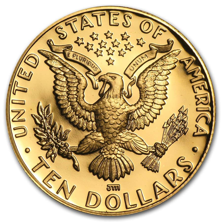 US Mint - $10 Gold Commemorative - AGW .4838