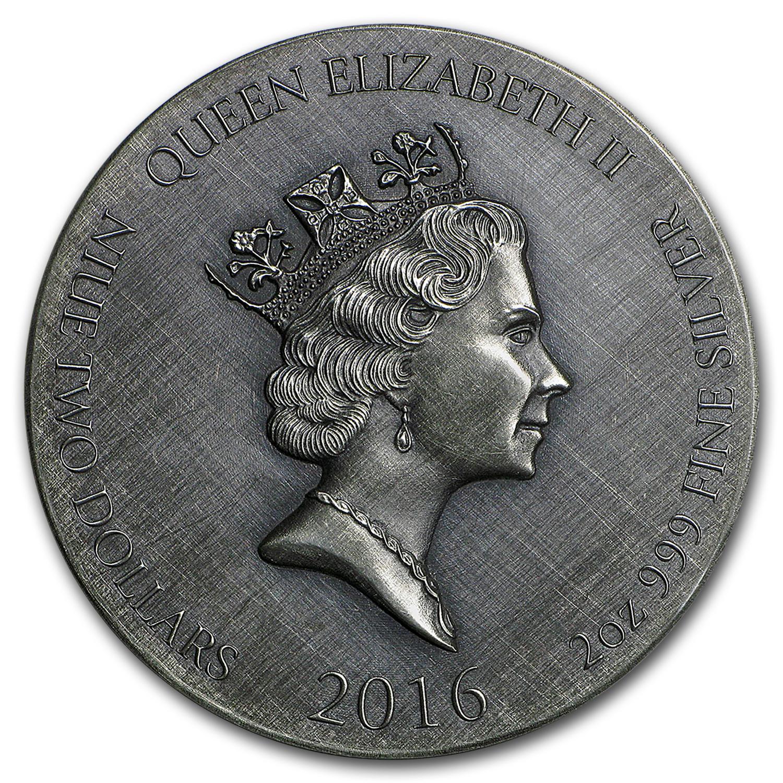 2016 2 Oz Silver Coin Coin 2 Biblical Series Apmex