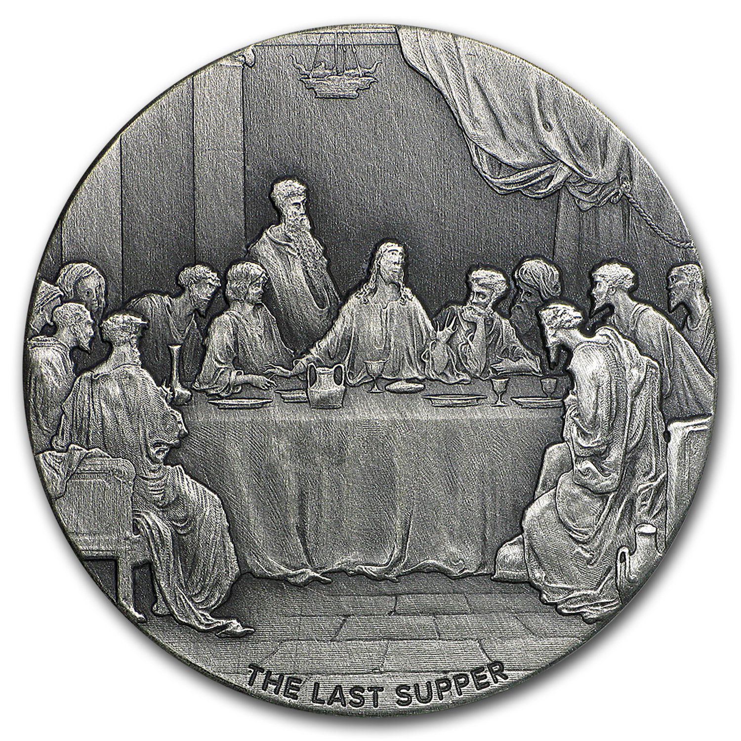 2 oz Silver Coin - Biblical Series (The Last Supper)