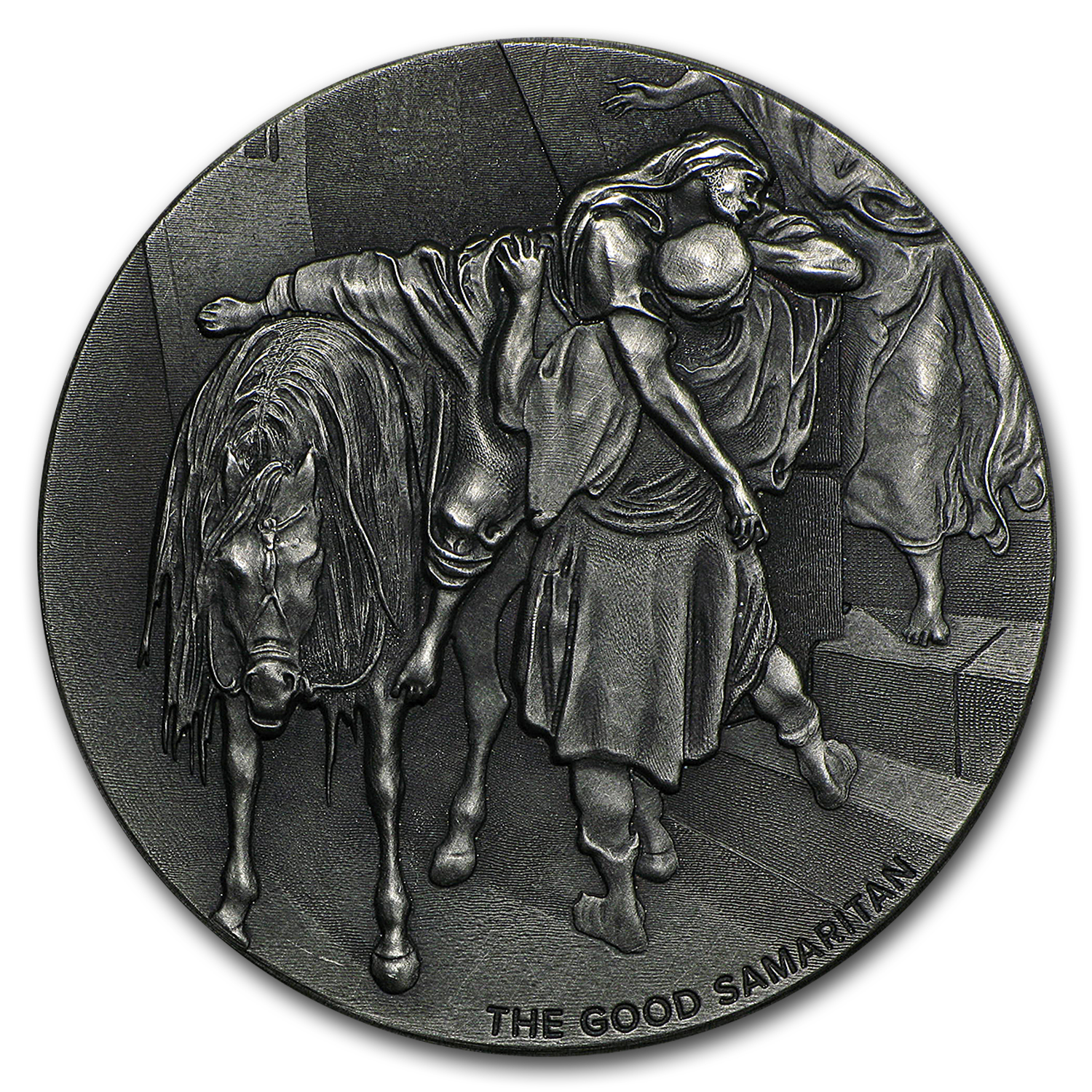 2016 2 oz Silver Coin - Biblical Series (The Good Samaritan)