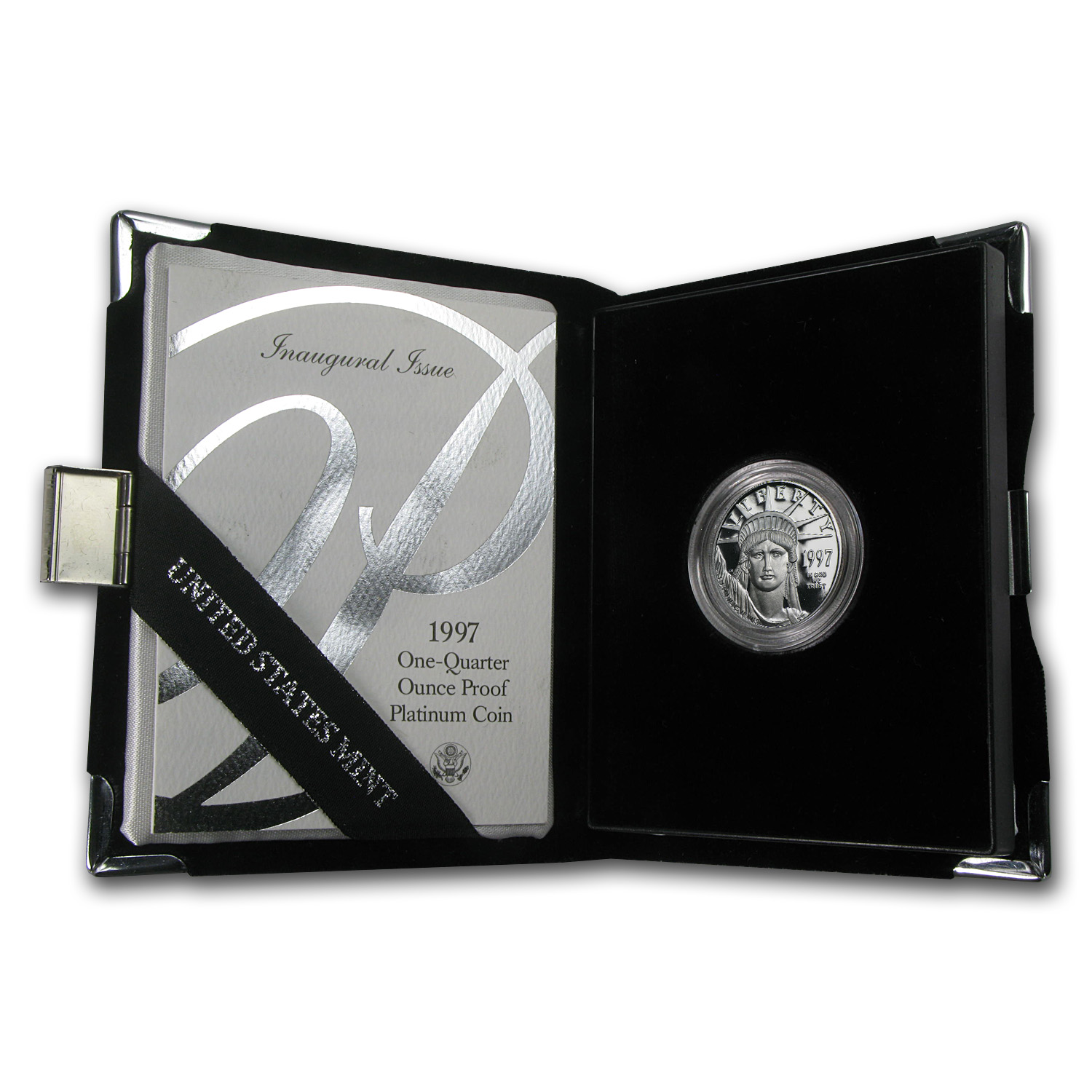 1997-W 1/4 oz Proof Platinum American Eagle (w/Box & COA)