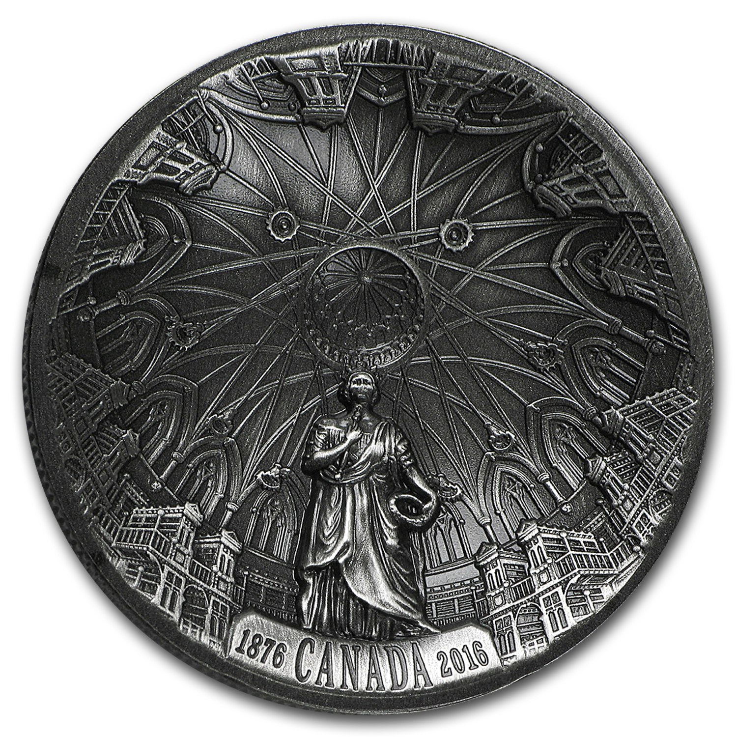 2016 Canada 1 oz Proof Silver $25 Library of Parliament