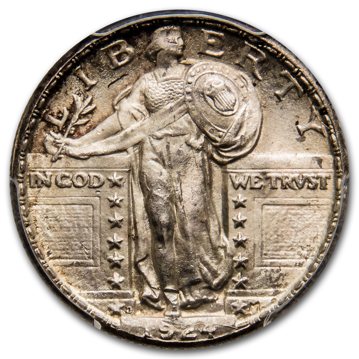 1924-D Standing Liberty Quarter MS-65 PCGS