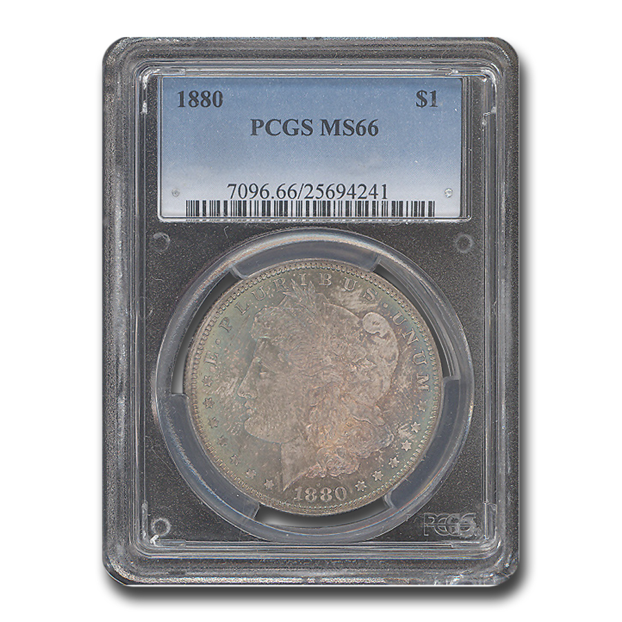 1880 Morgan Dollar MS-66 PCGS