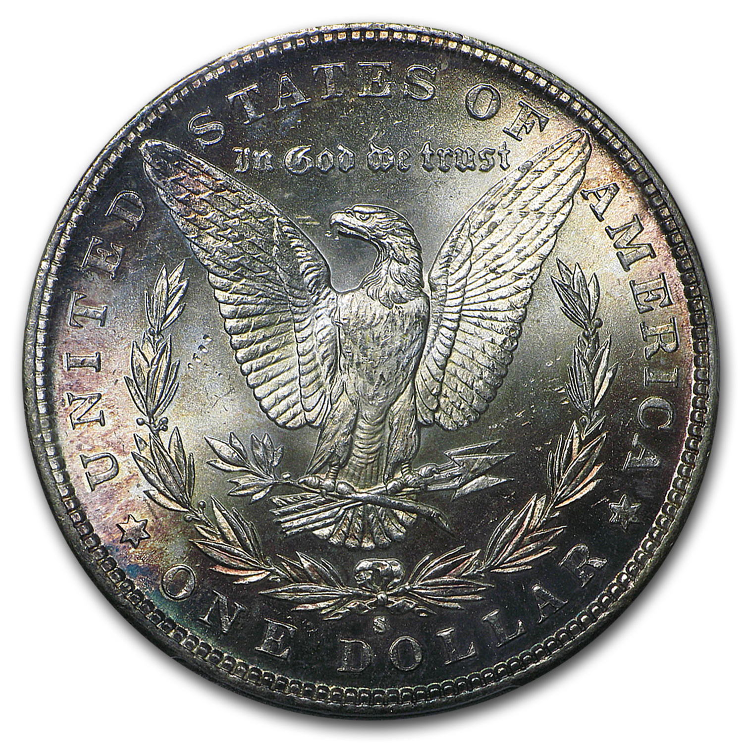 1885-S Morgan Dollar MS-64 PCGS (Toned)
