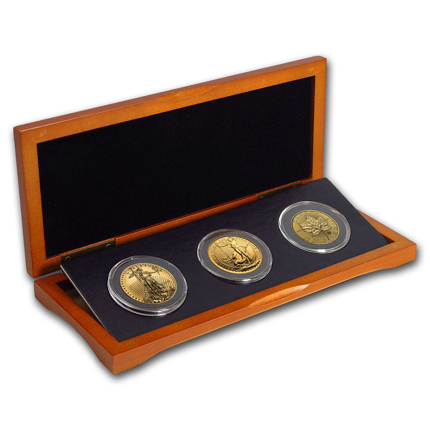 2016 3-Coin 1 oz Gold Sampler Pack for New Investors