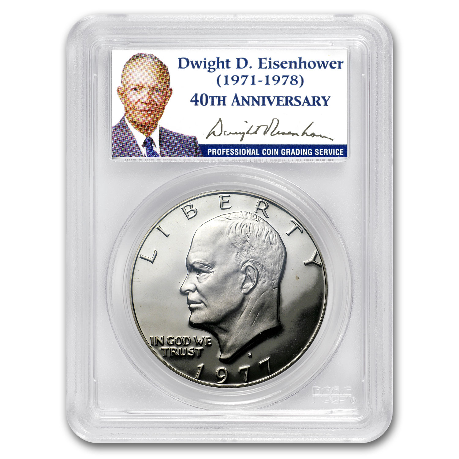 1971-S to 1978-S 11-Coin Ike Dollar Proof Set PR-69 PCGS
