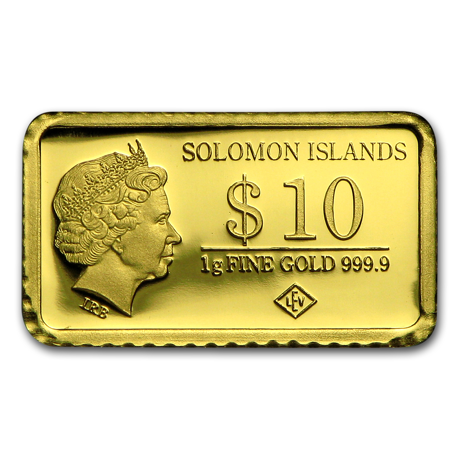 2015 Solomon Islands 1 gr Gold Landmarks of the World (Beijing)