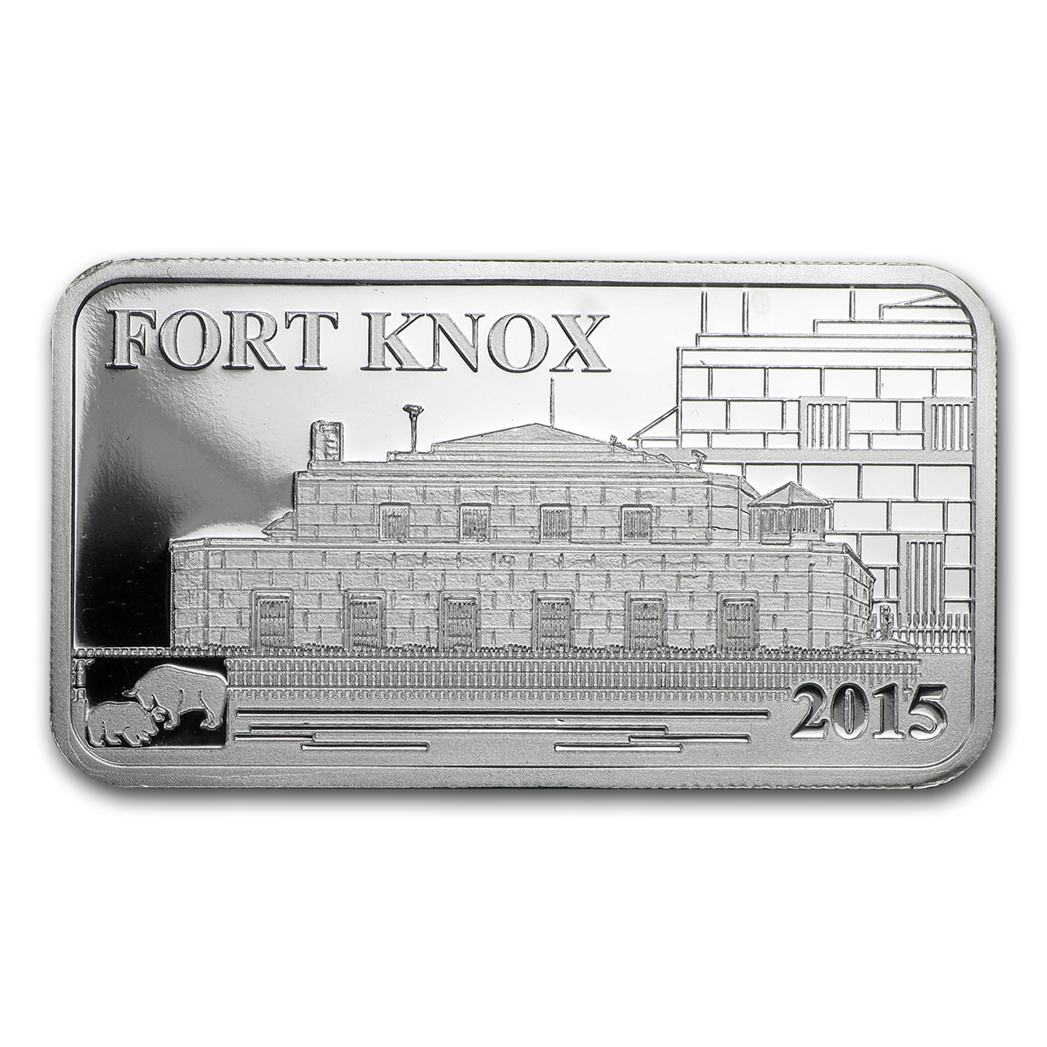 2015 Cook Islands 1/2 oz Silver Global Trade Fort Knox